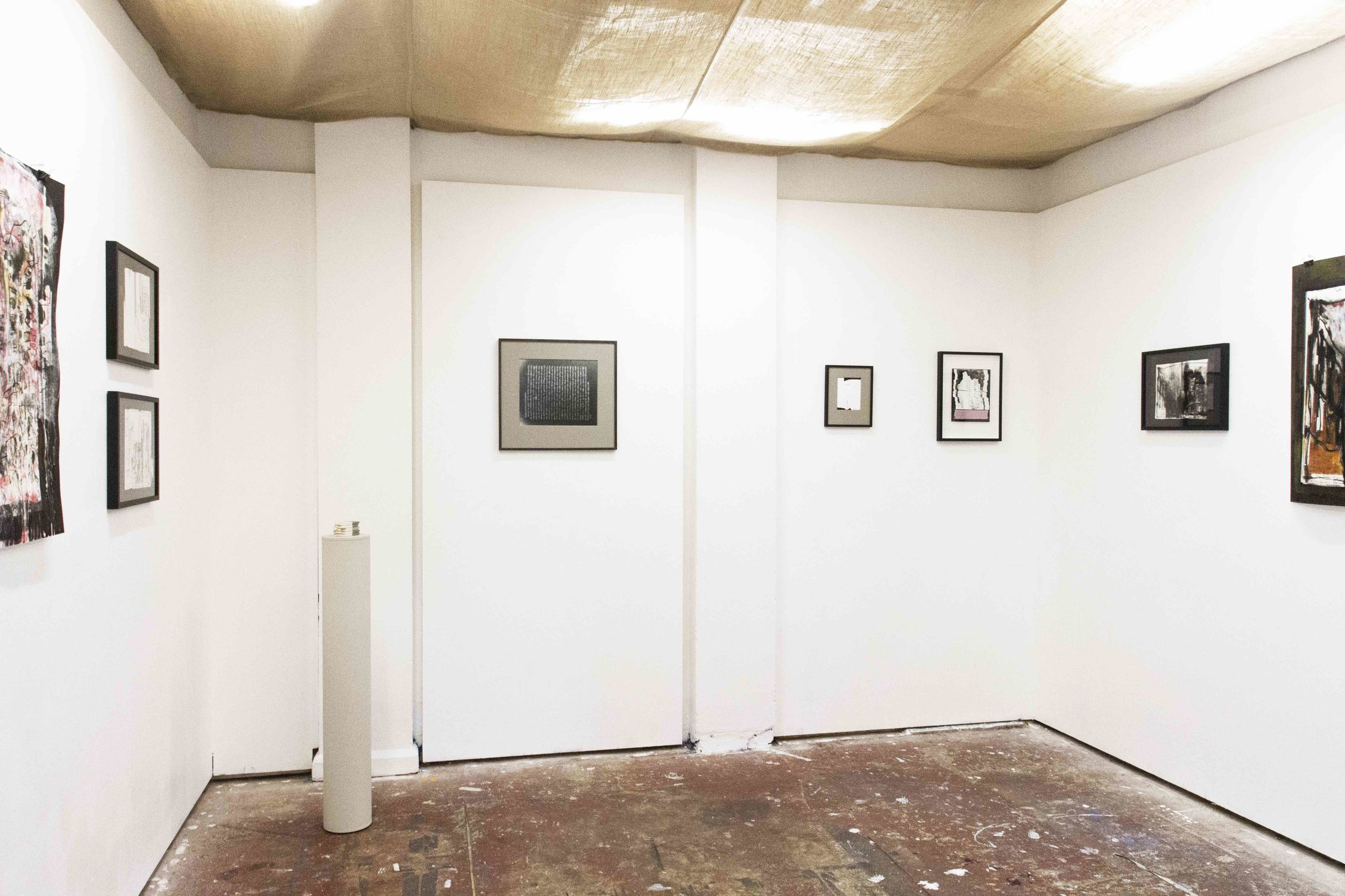 Installation view: Eraserheads (left); Underworld (centre); City of Words (right).