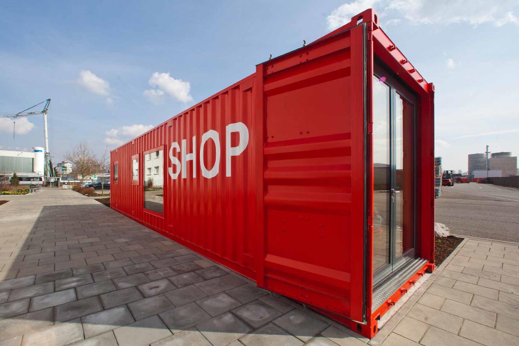 Container Shop, © PERI