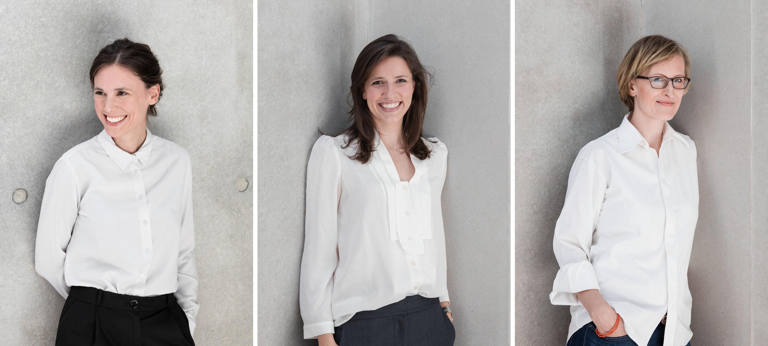 Sonja Evens |Nathalie Schwörer |Anna Worzewski