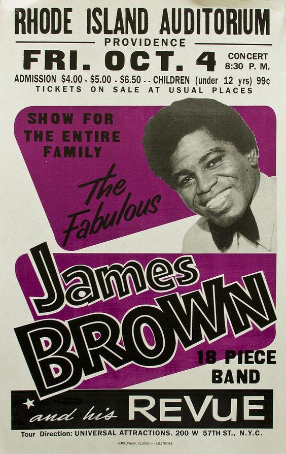 James Brown -Globe Poster Printing Corporation