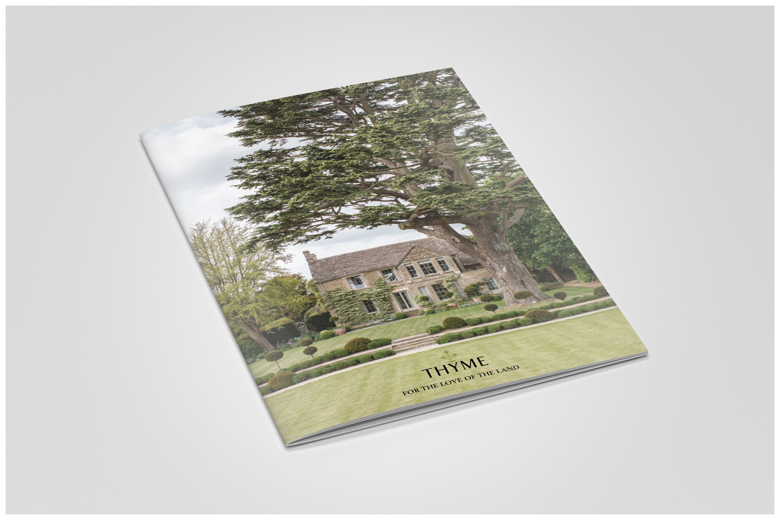Marketing Material - Websites, brochures, lookbooks and more