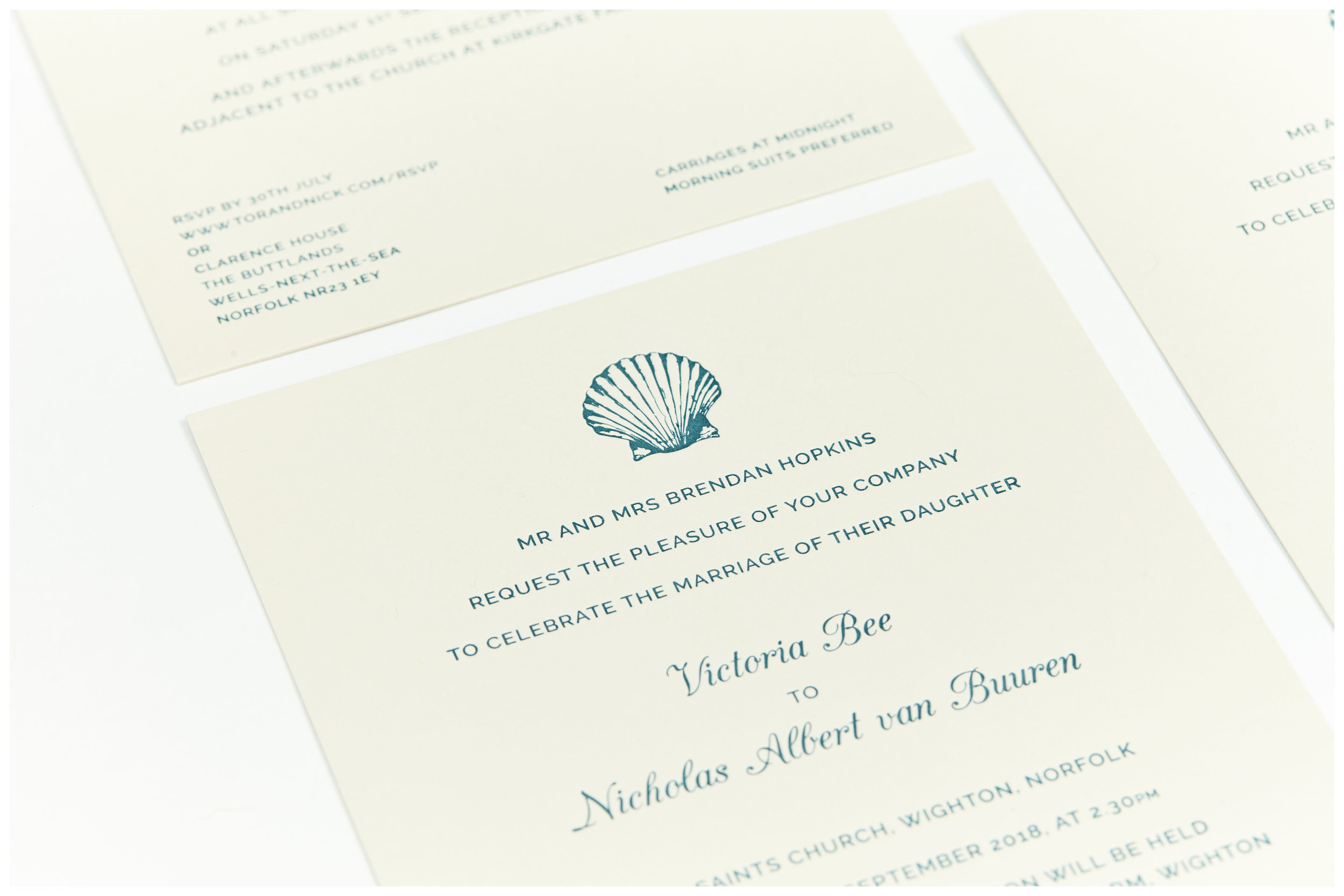 Event Stationery - Bespoke invitations, illustrations and event materials for your unique occasion