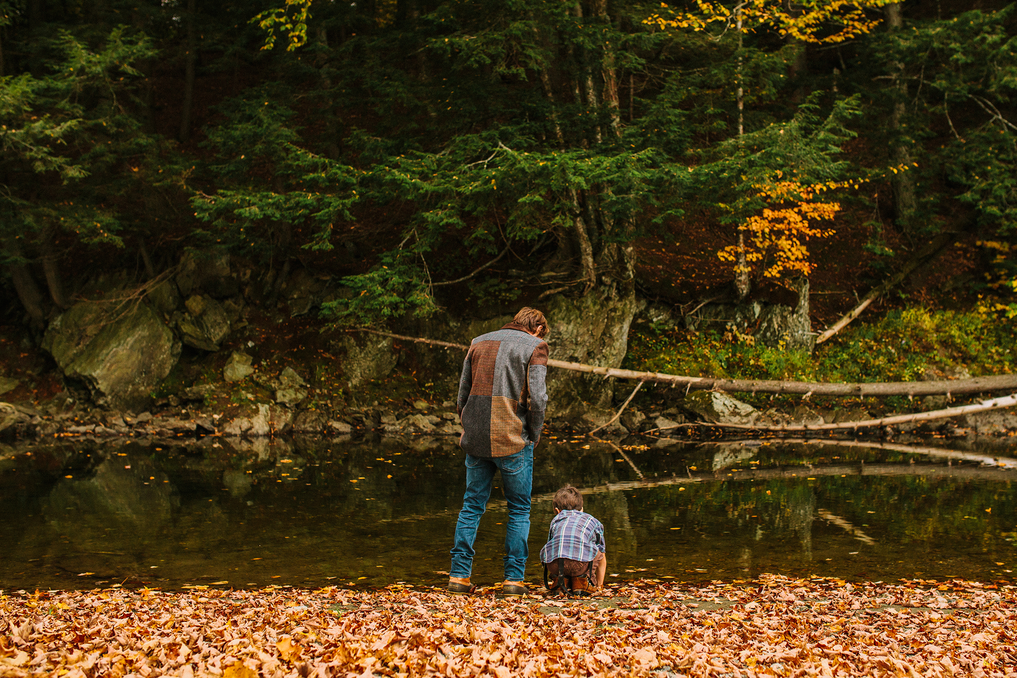 father and son at river in vermont web.jpg