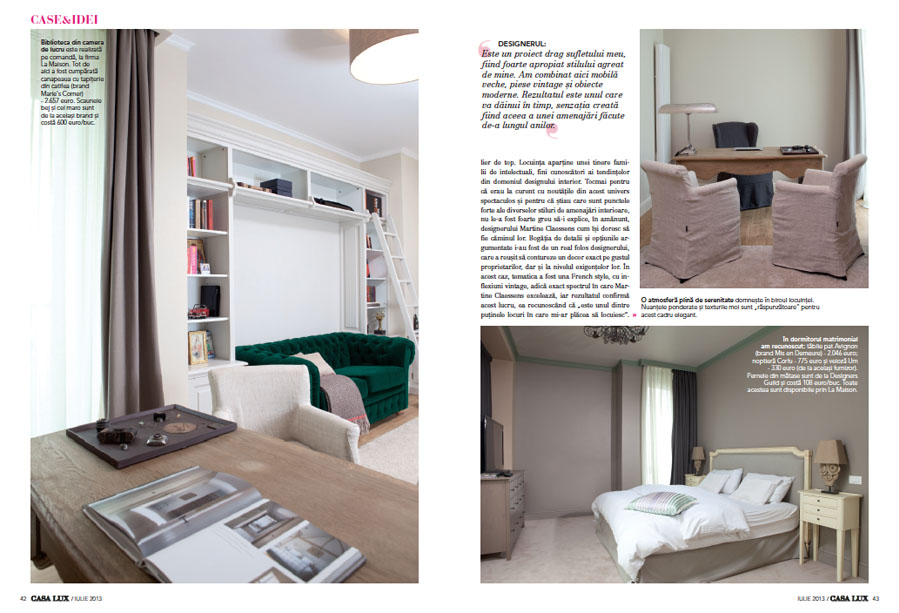 Casa Moderne And Design.Casa Lux 07 2013 Martine Claessens