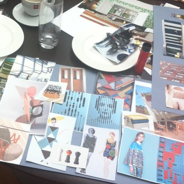 Nice challenge: making a trend board