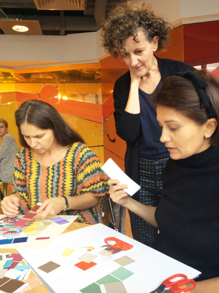 Workshop: making a colour harmony