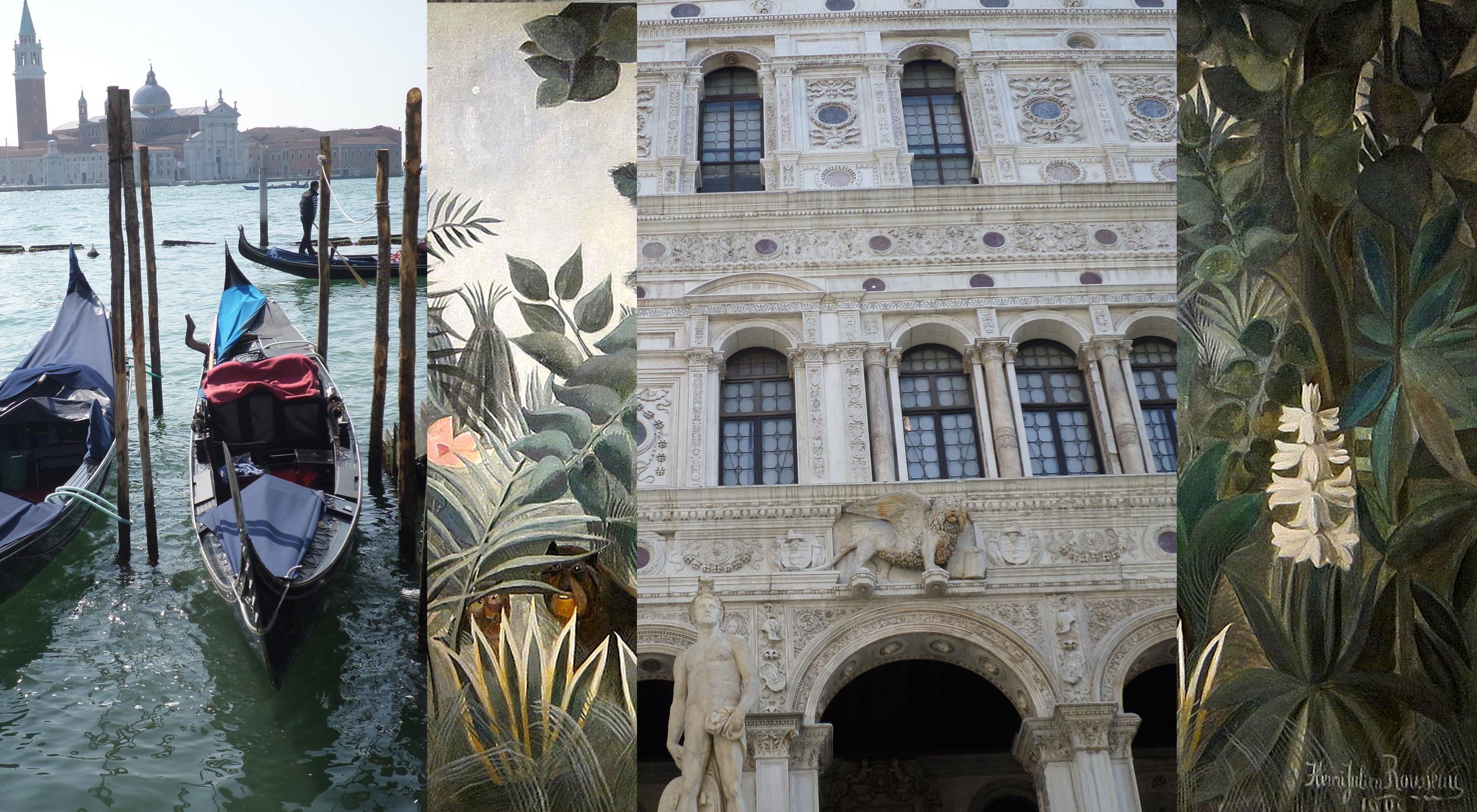 Venice - Palazzo Ducale - Henri Rouseeau exhibition