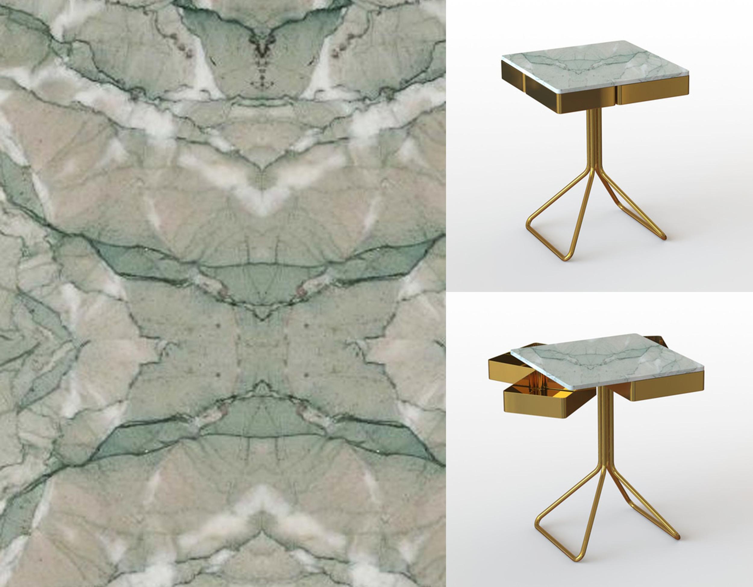 Top Secret table by  Francesco Meda