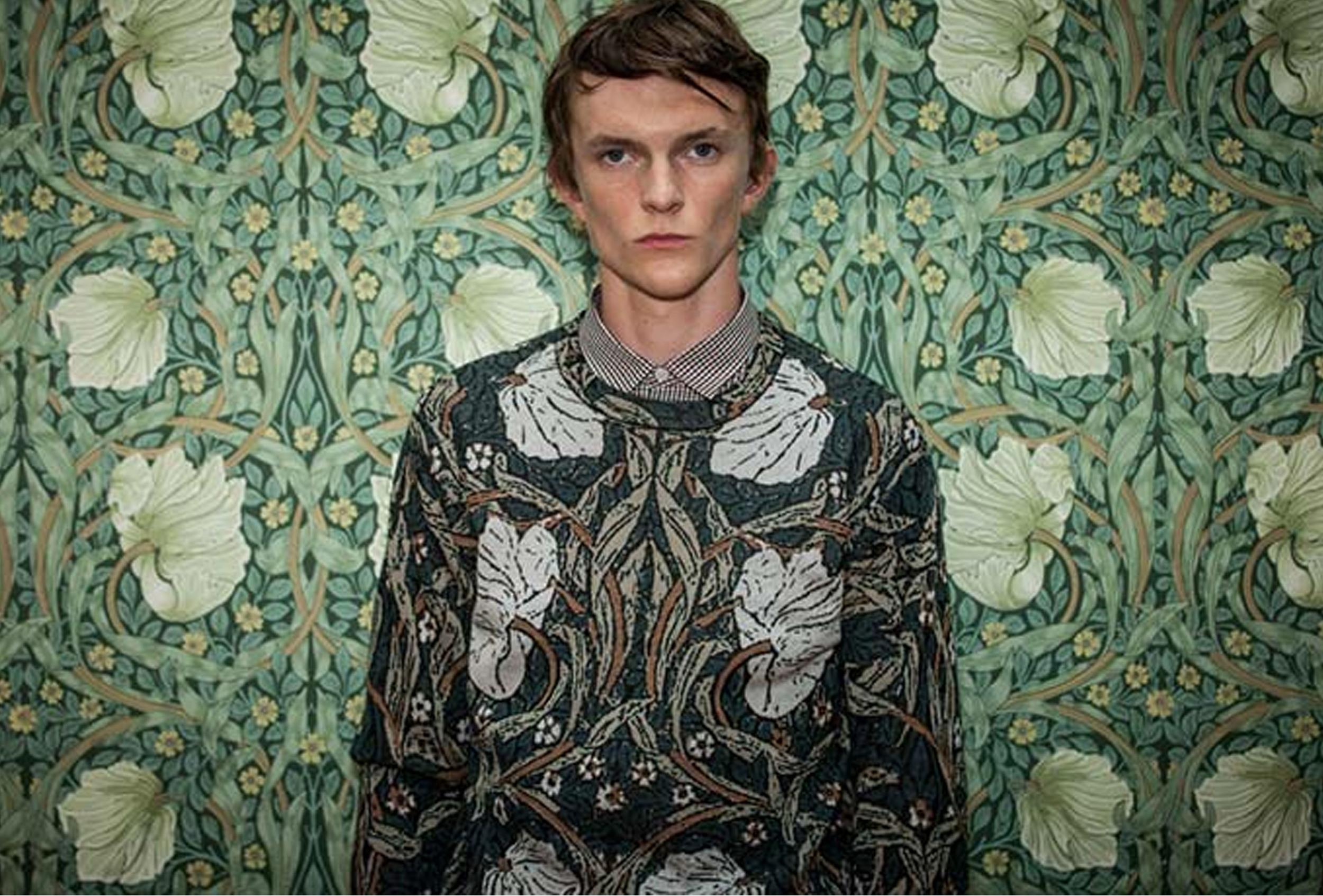 William Morris keeps inspiring fashion -  Pringle of Scotland