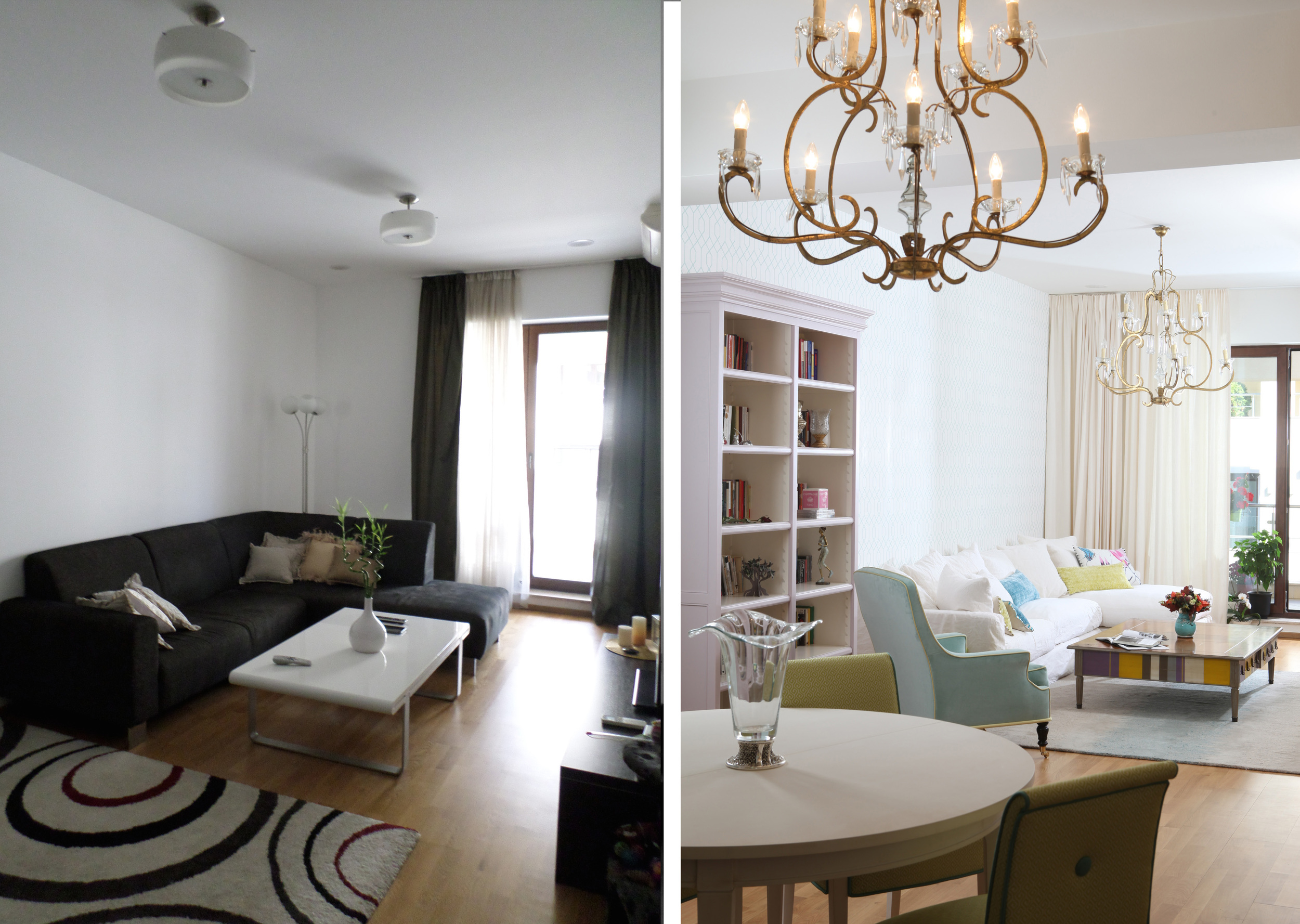 before/after living - image  Casa Lux