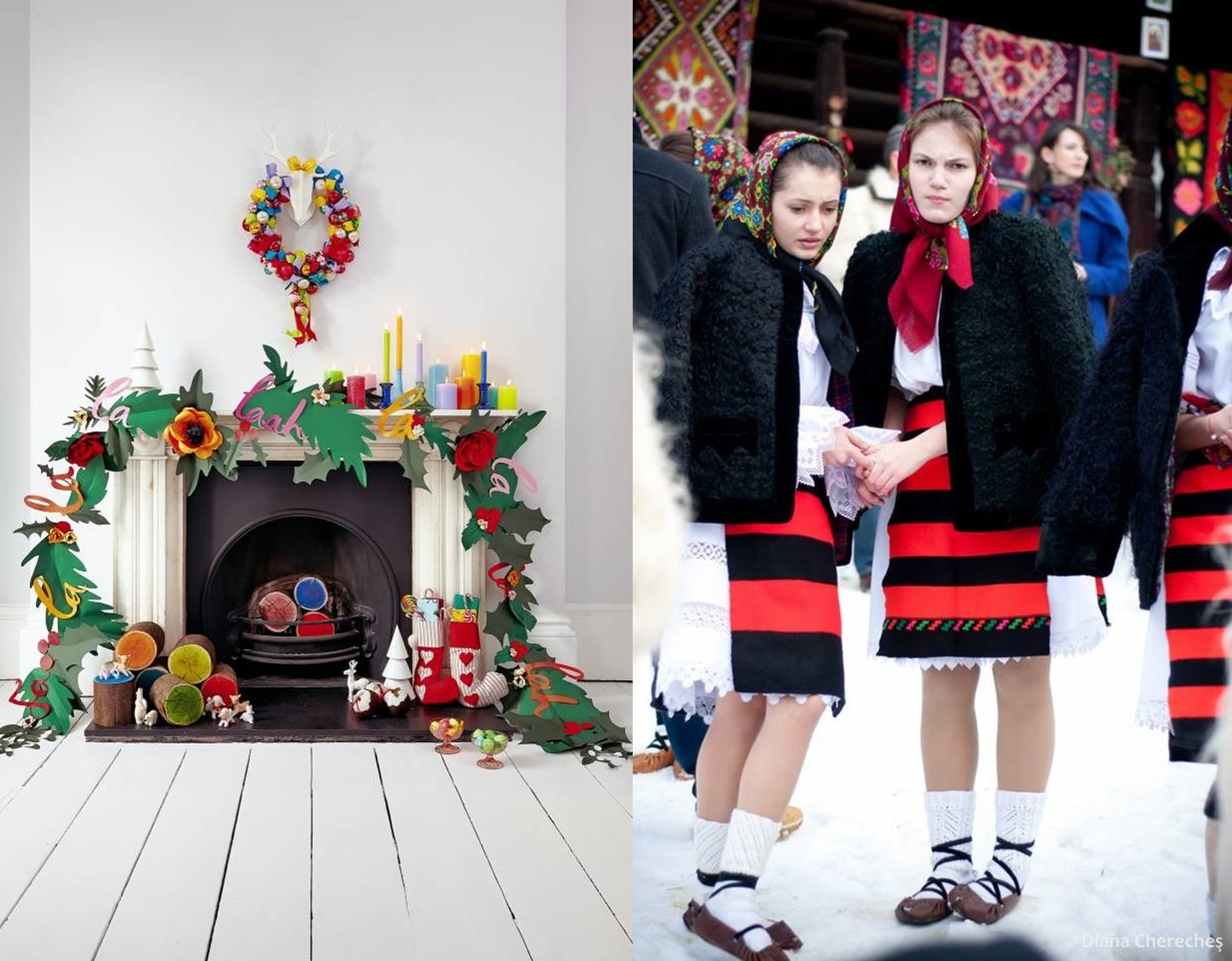 Christmas decoration  Etsy  -image Christmas in Maramures by Diana Chereches  Maramuresenii