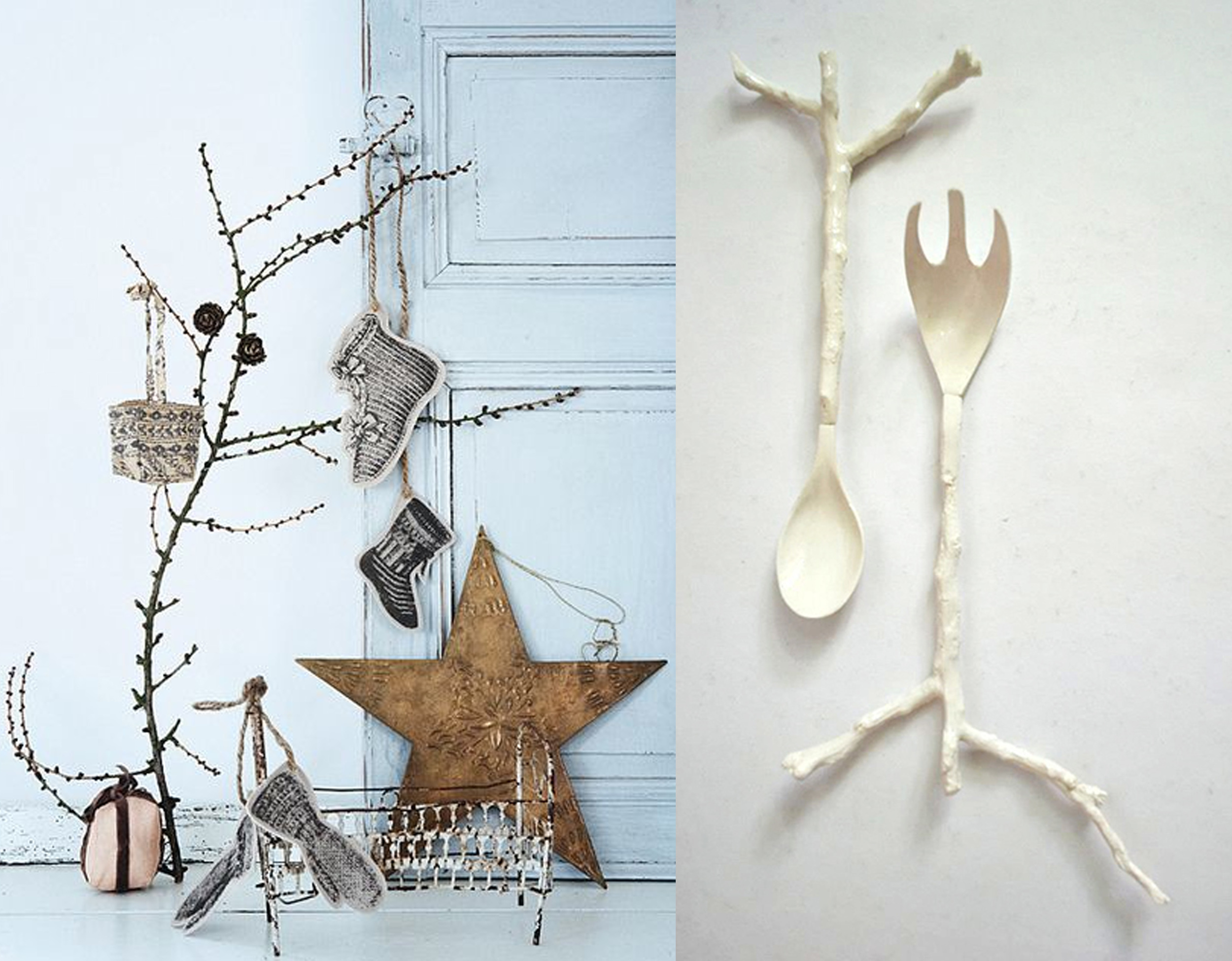 Christmas decoration  The   Style Files  - serving spoon  Oana Stoica Ceramics