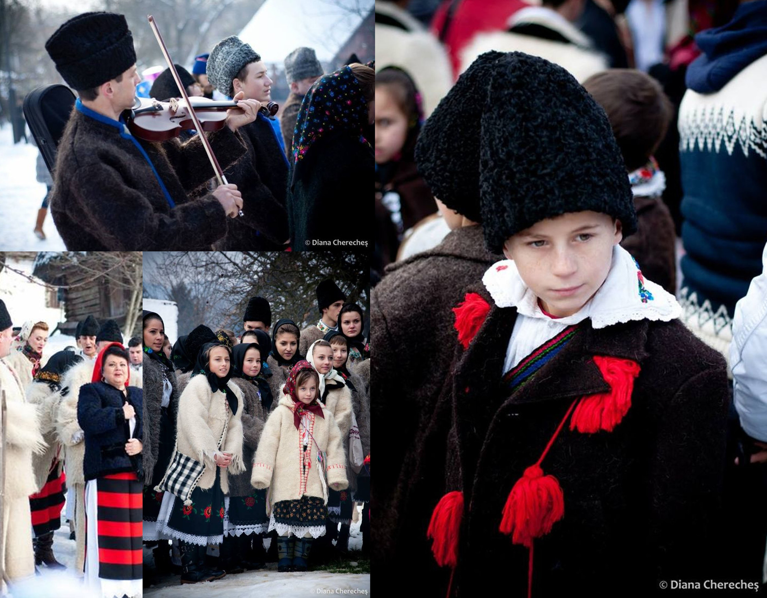 image Christmas in Maramures by Diana Chereches  Maramuresenii