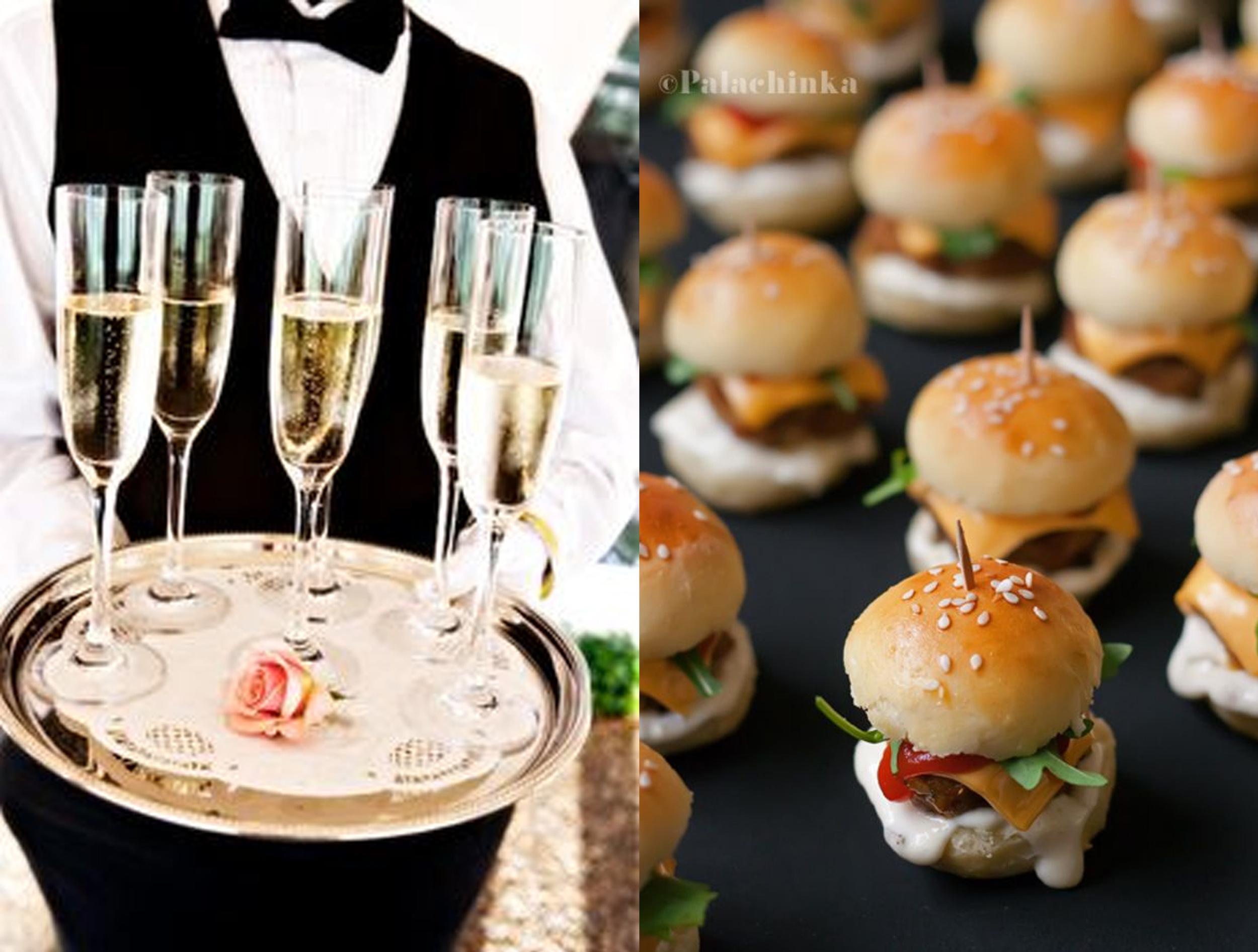 butler service  Pinterest  - finger food  Paybuzz