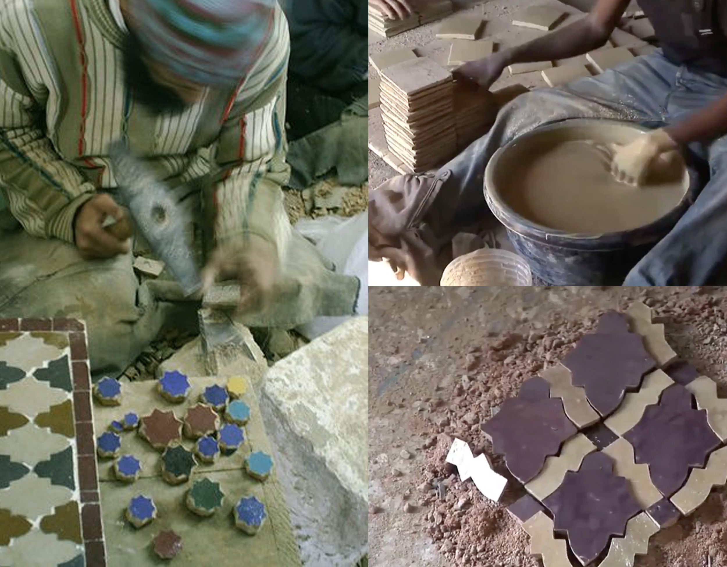 picture  Pinterest - images from video From Clay to Mosaic