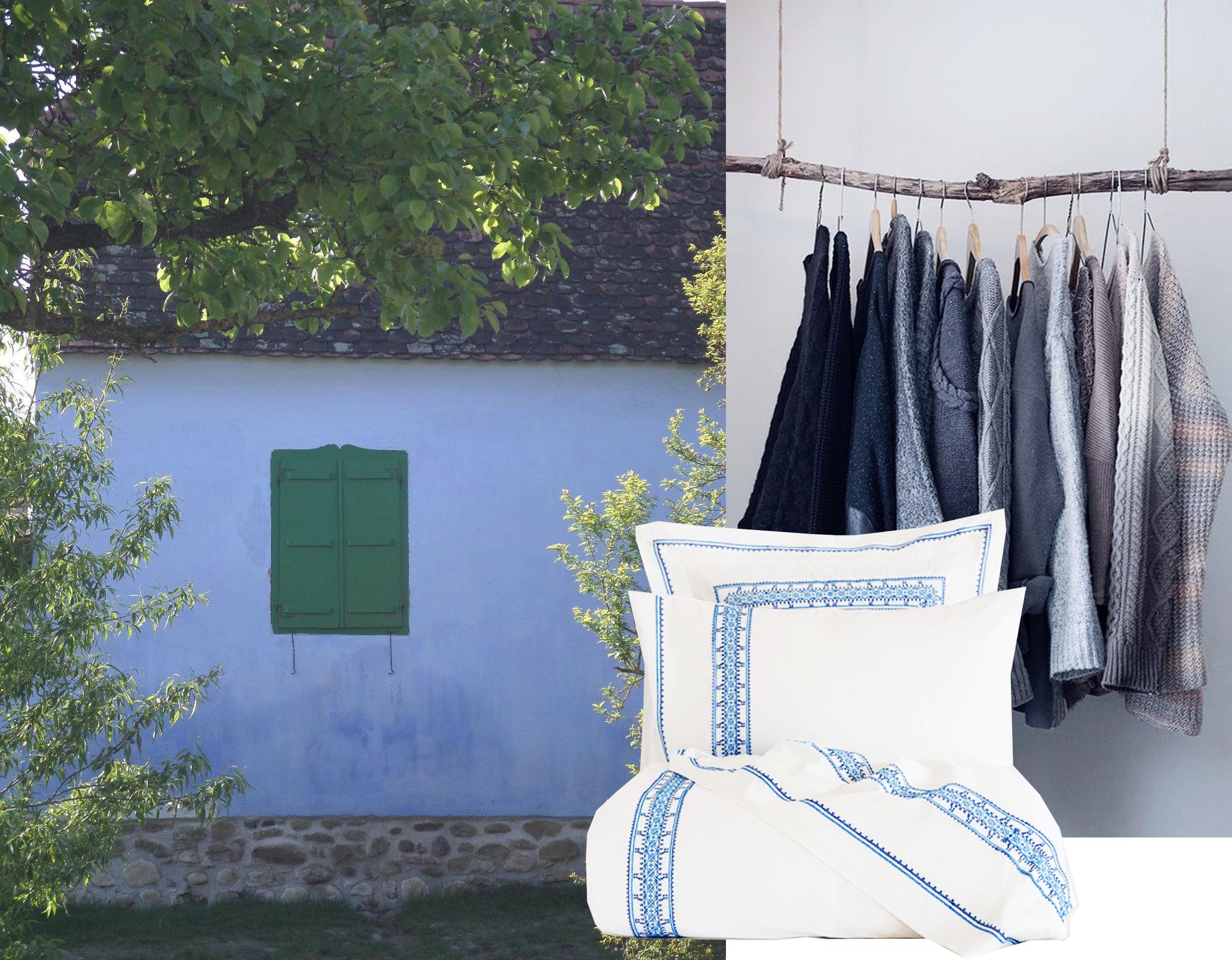 picture house taken in Viscri - cloths hanger - bedlinen  Zara Home
