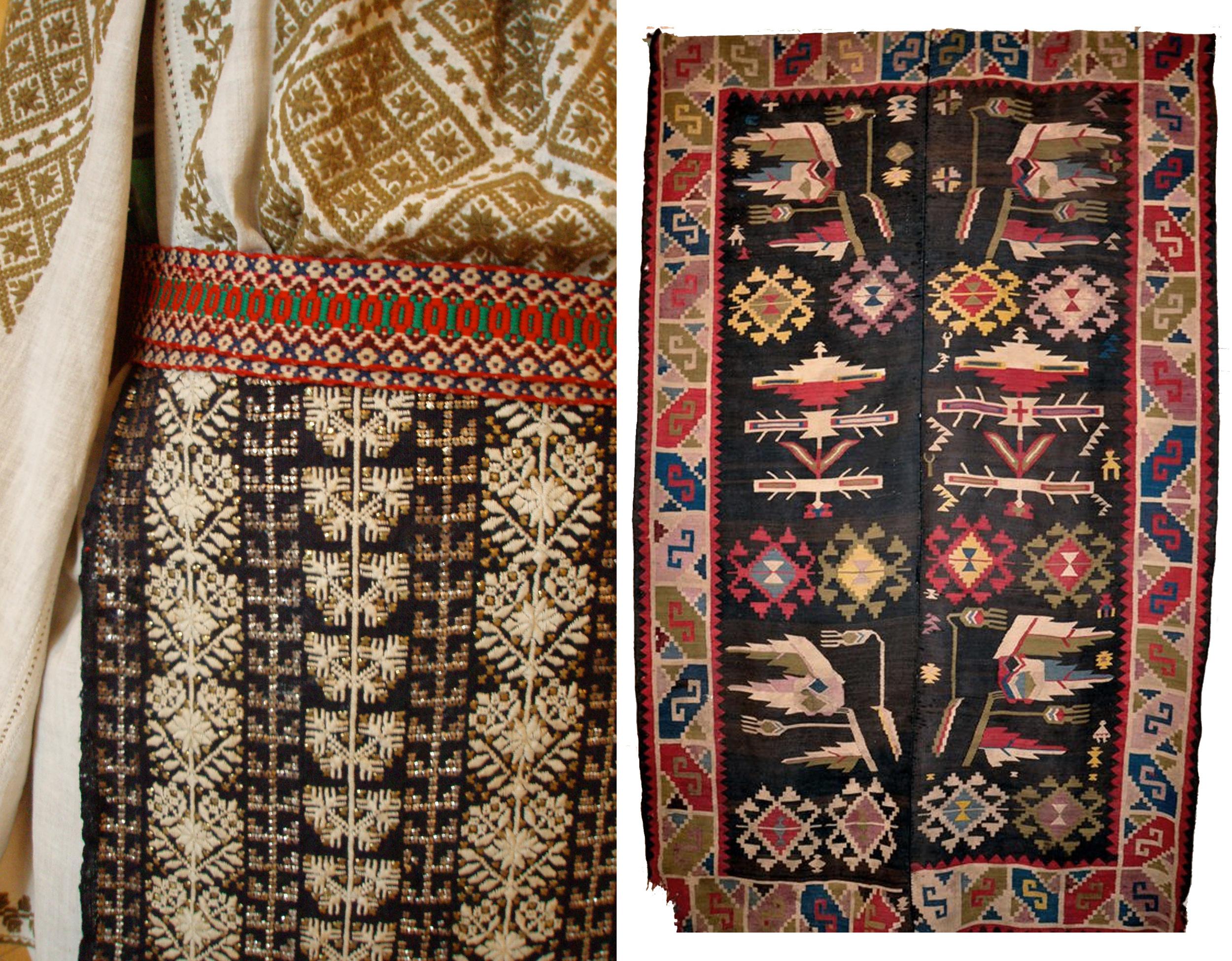 Romanian symbols embroidery / rug.jpg