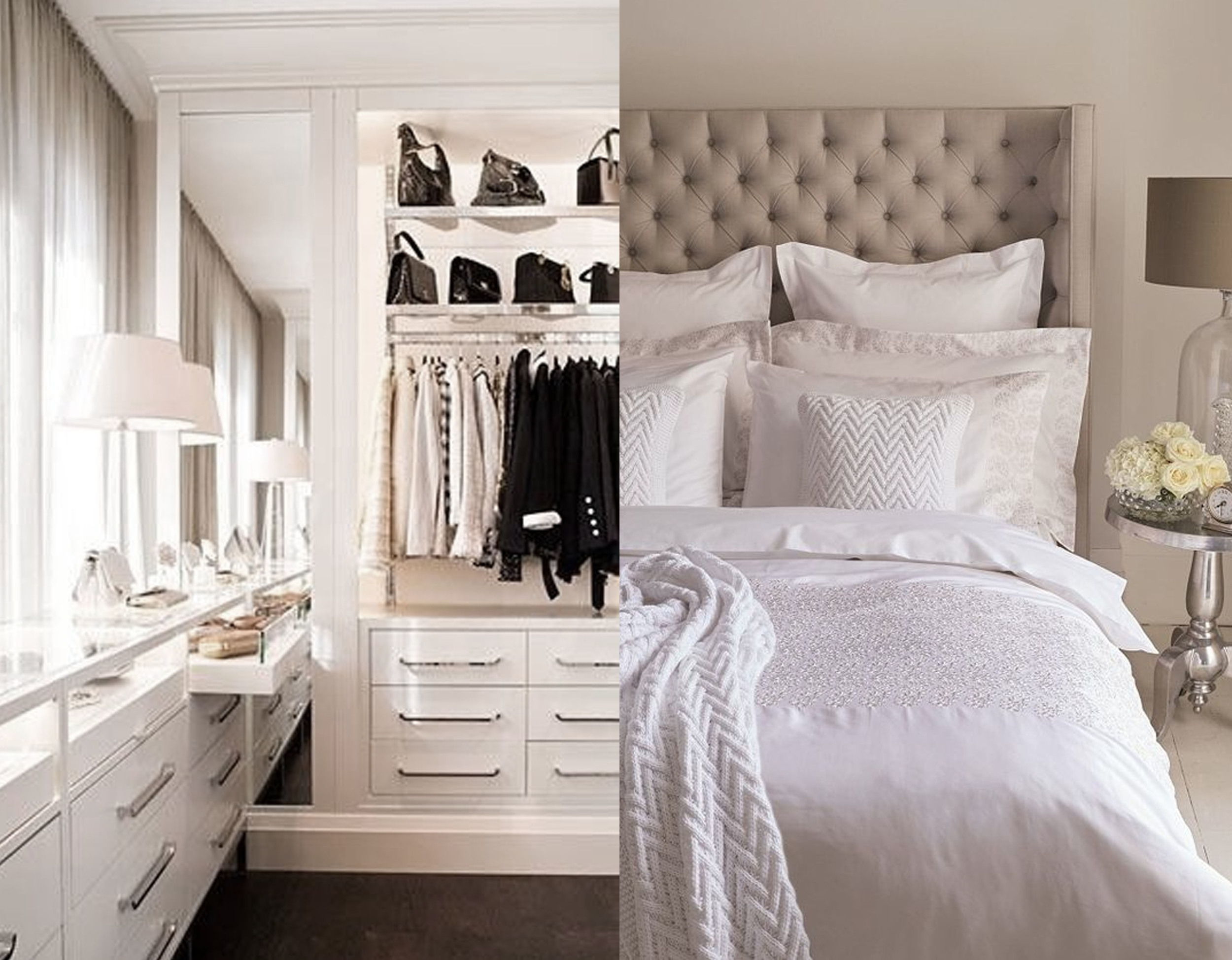 adding pillows will give a luxurious feeling - images Pinterest