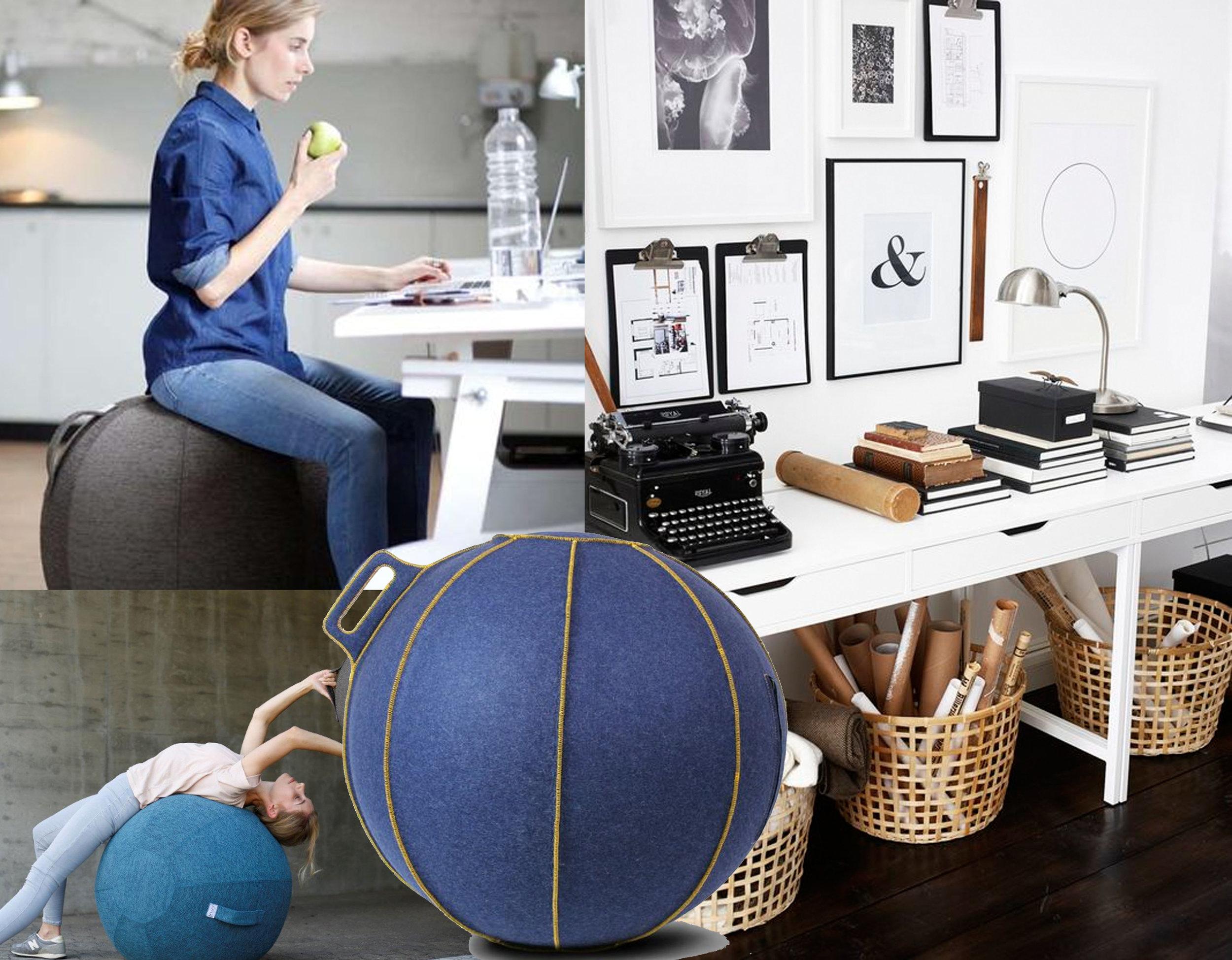 VLUV seat ball  Hock  - desk Alex  IKEA