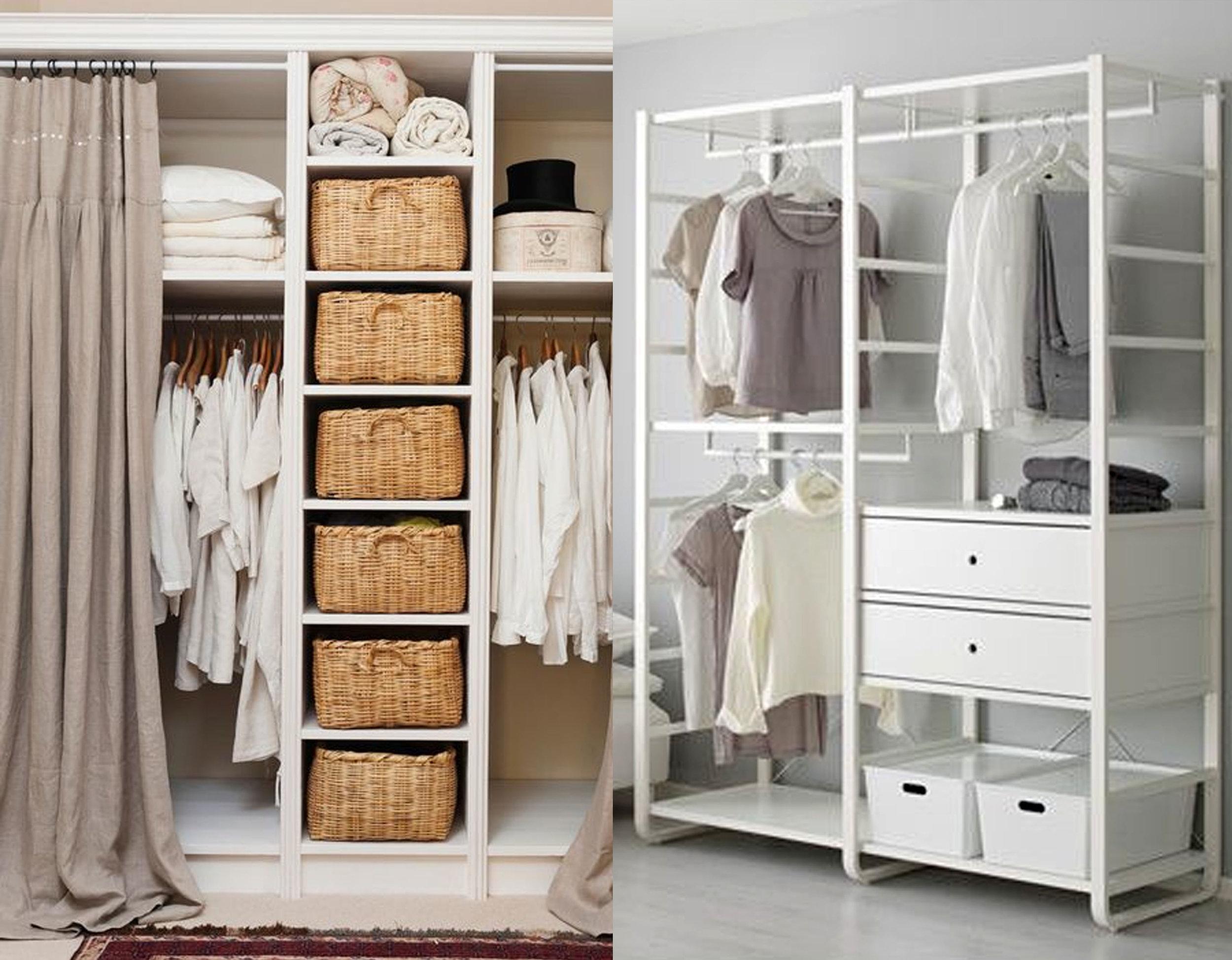 image dressing via  Pinterest  - clothing rack Elvarli  IKEA