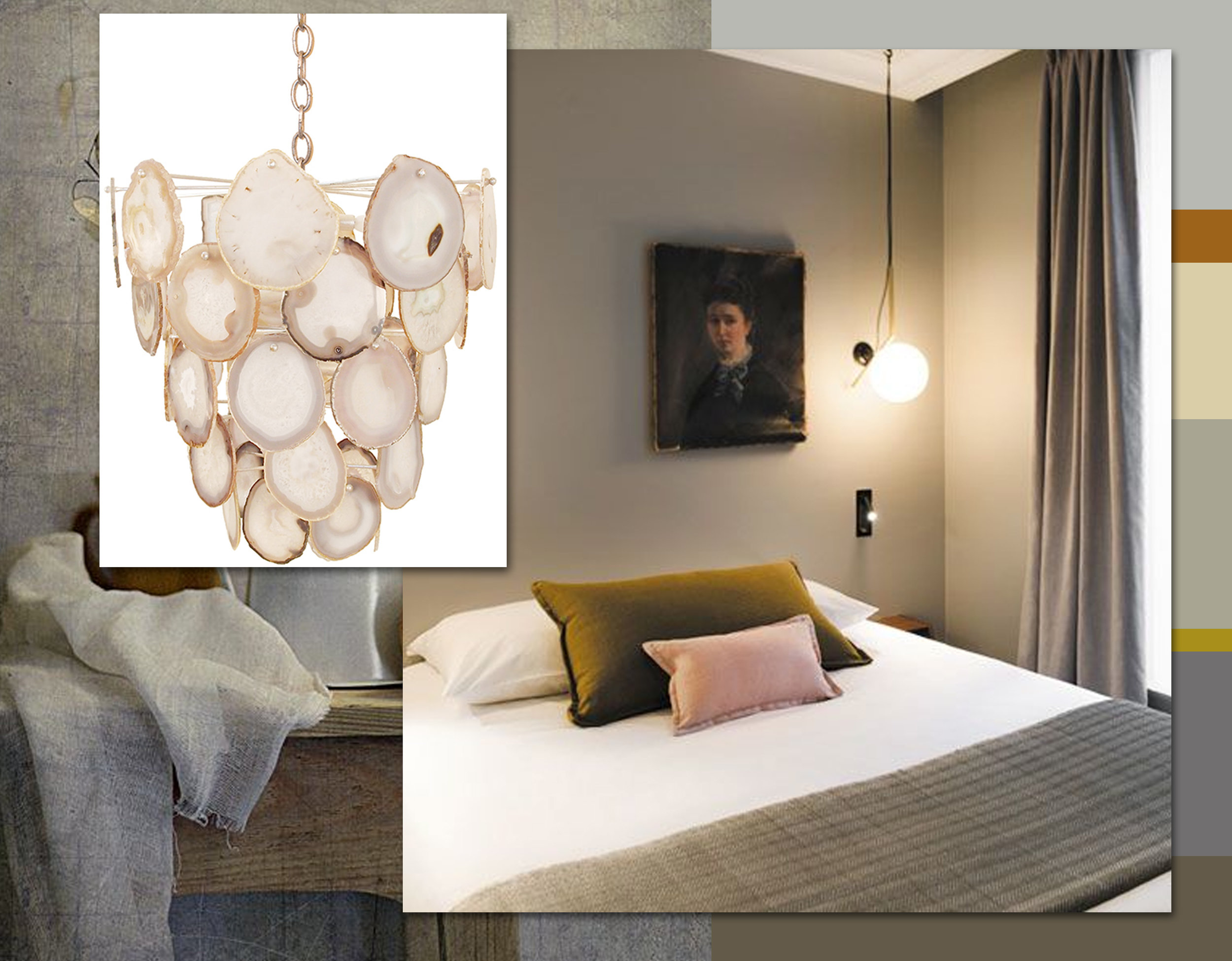 Bebe chandelier  Marjorie Skouras Design  - interior C.O.Q hotel via  Tablet