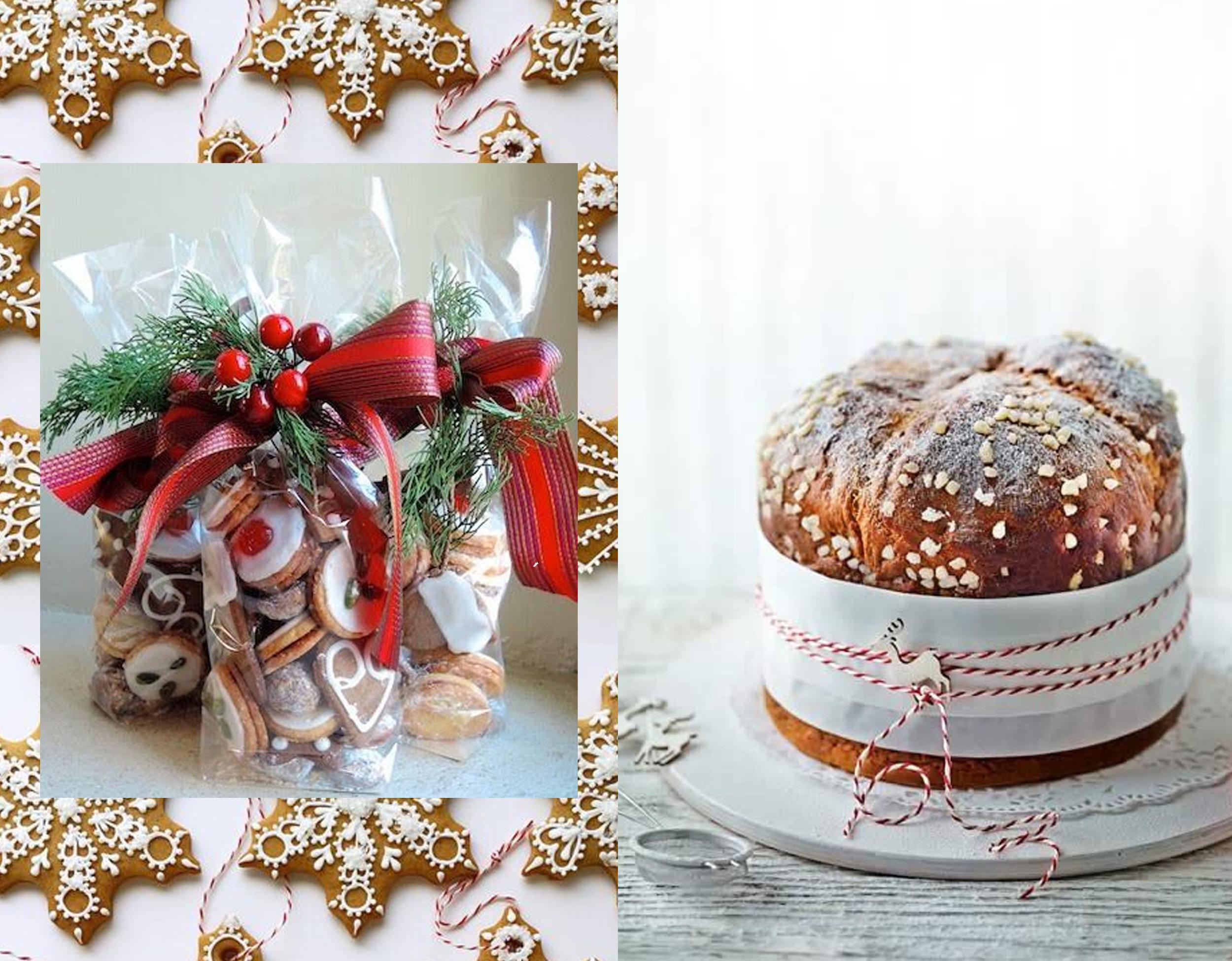 cookies via  SweetAmbs  - cookis as a perfect gift via  Pinterest  - panetone  Meg and Cook