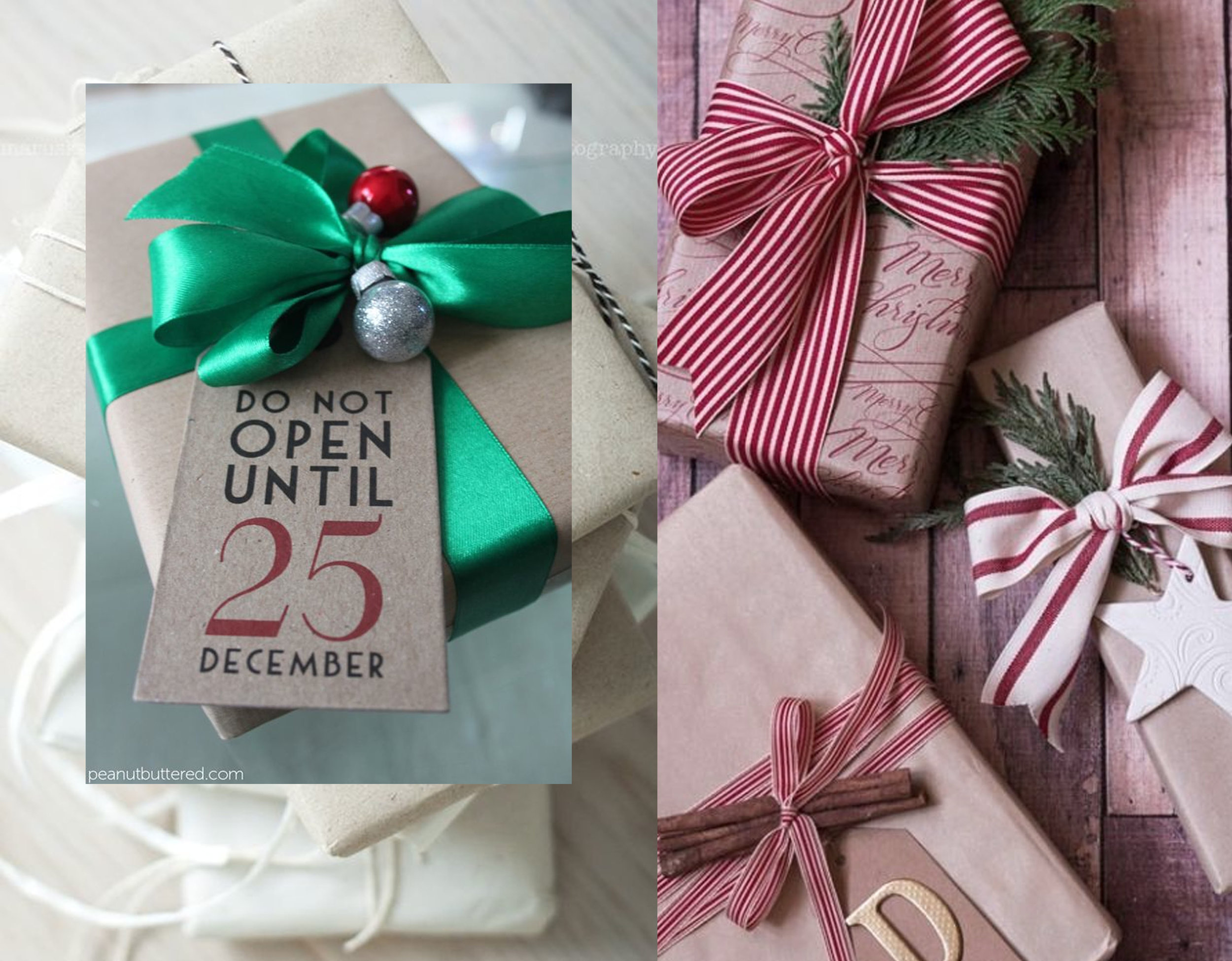 wrapping ideas  Peanut Buttered  -  Ebay