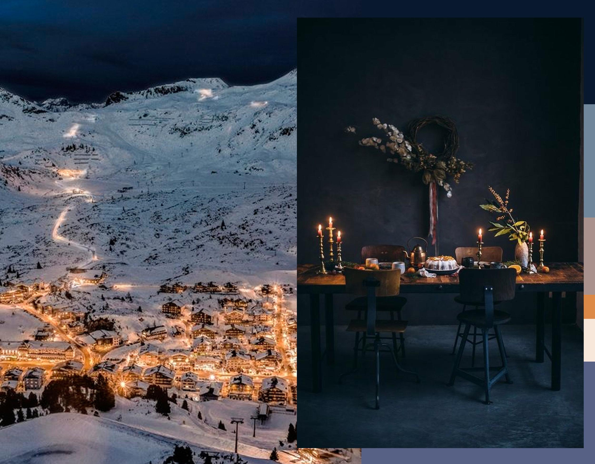 image Austria via  Architecture and Design  - interior via  Our Food Stories