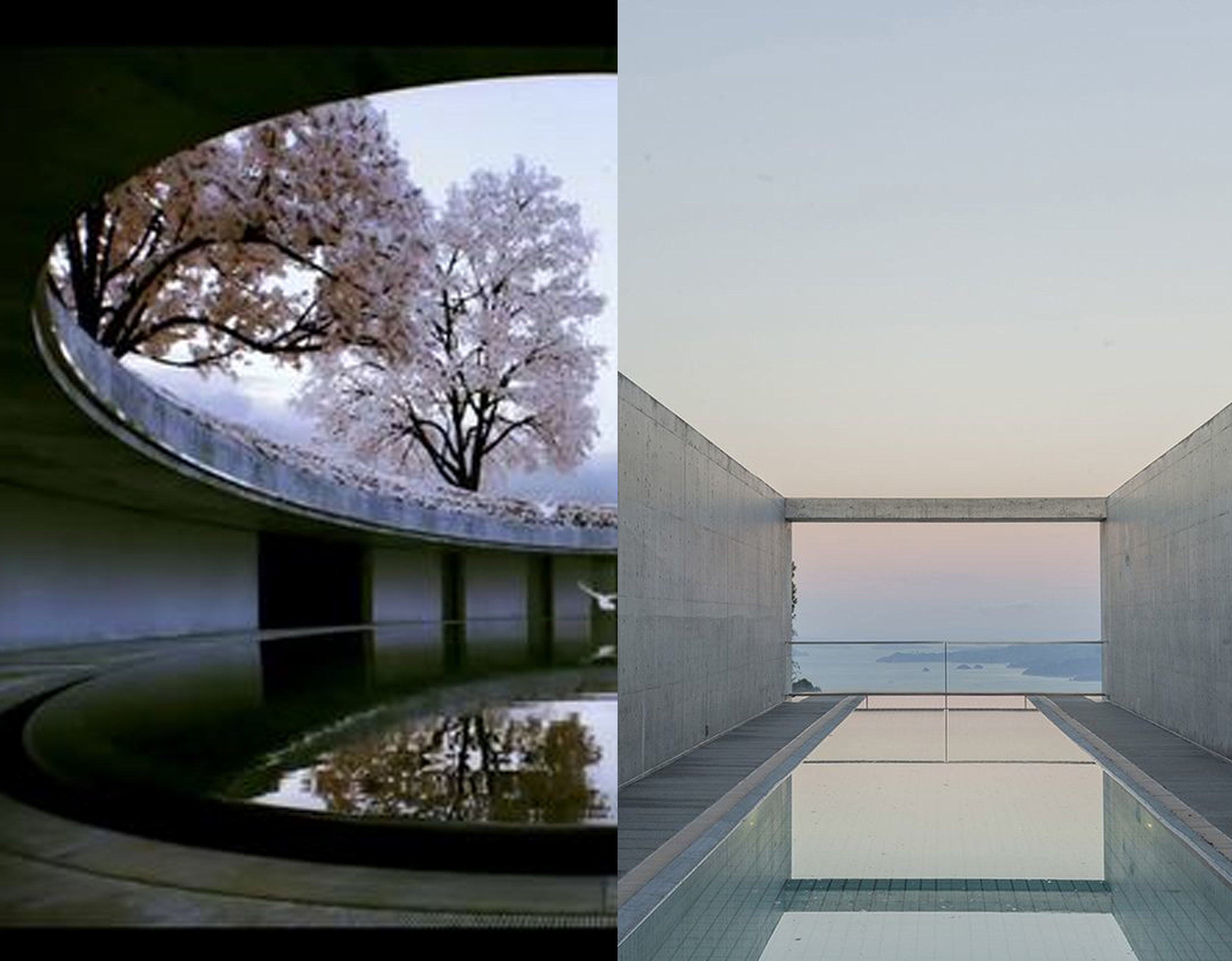 Tadao Ando - The Oval via  Flickr  -  Setouchi Aonagi