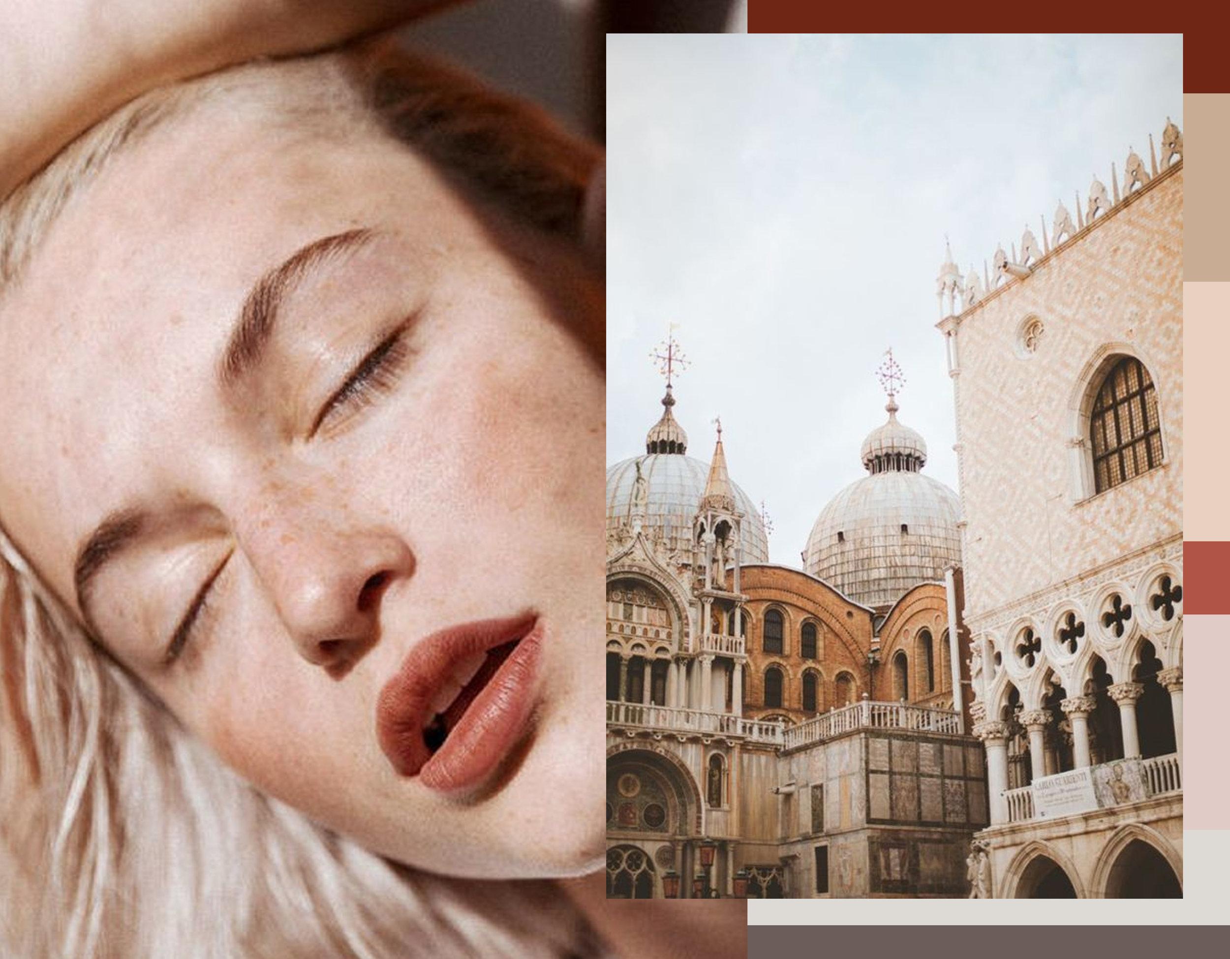 beauty image via  Into the Gloss - image Venice via  Entouriste