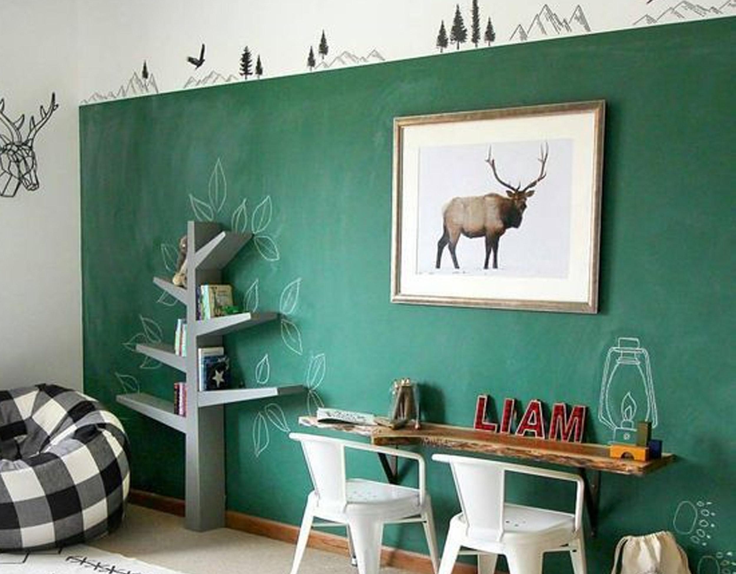 chalkboard paint via  Bloglovin'