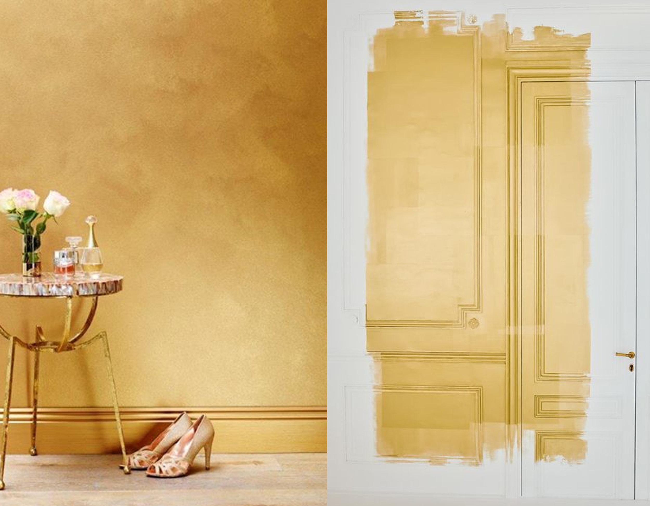 metalic paints Liquid Gold  Syndney Harbour  - paint brings details more in front photography Elizaveta Porodina via  Zsa Zsa Bellagio