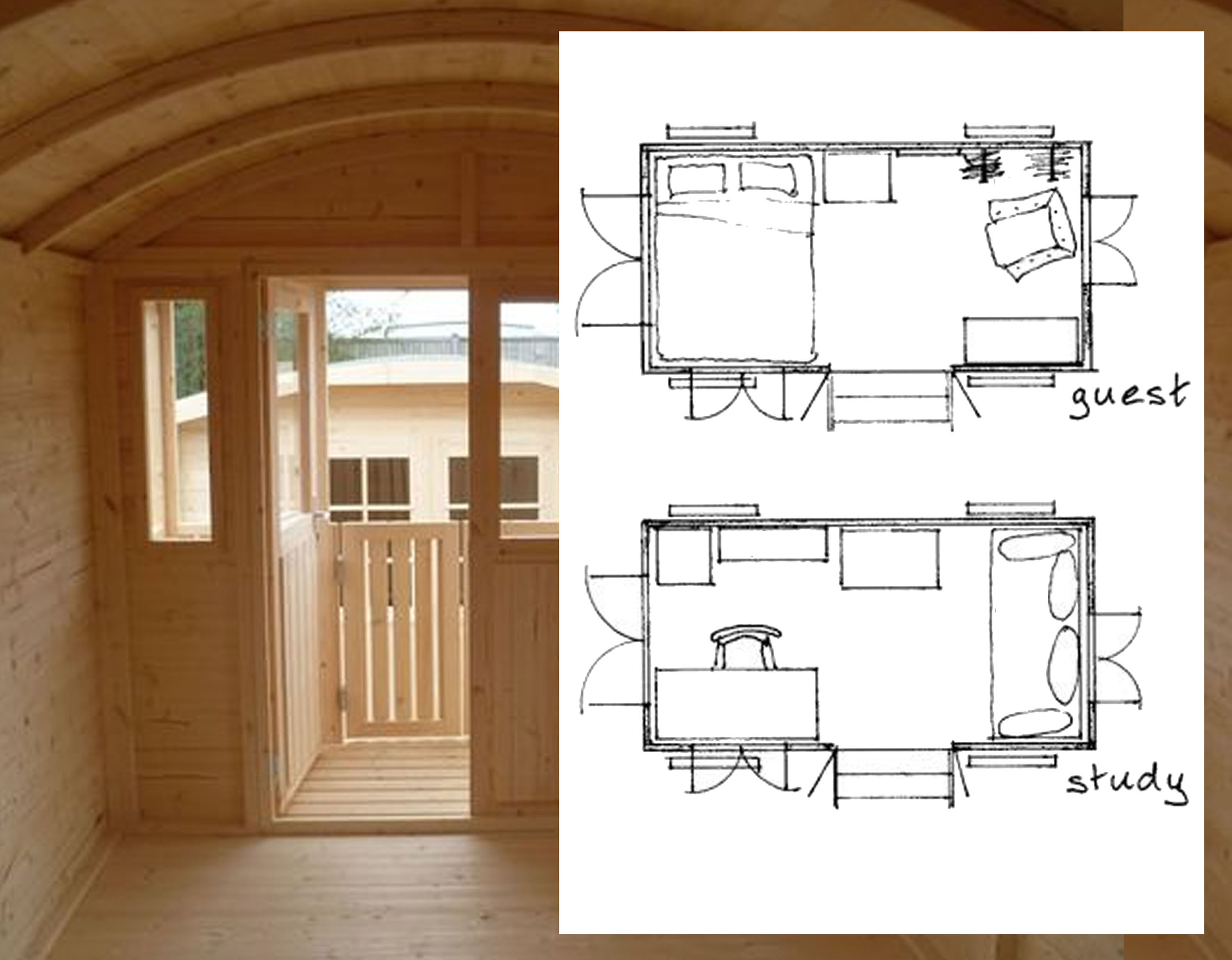 traditional wagon has approx. 2 x 4 m