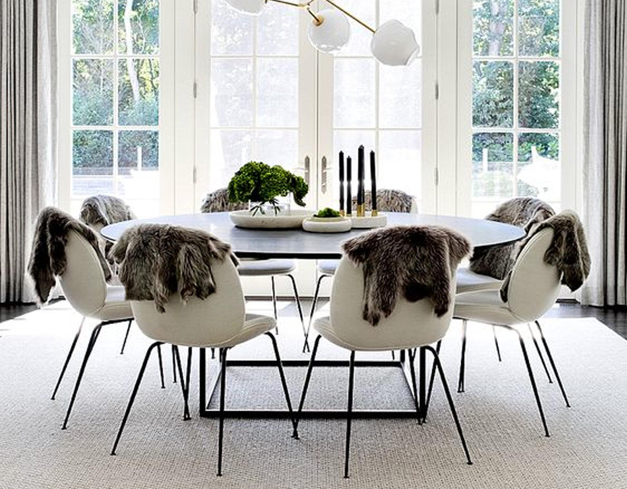image dining room via  Cote de Texas