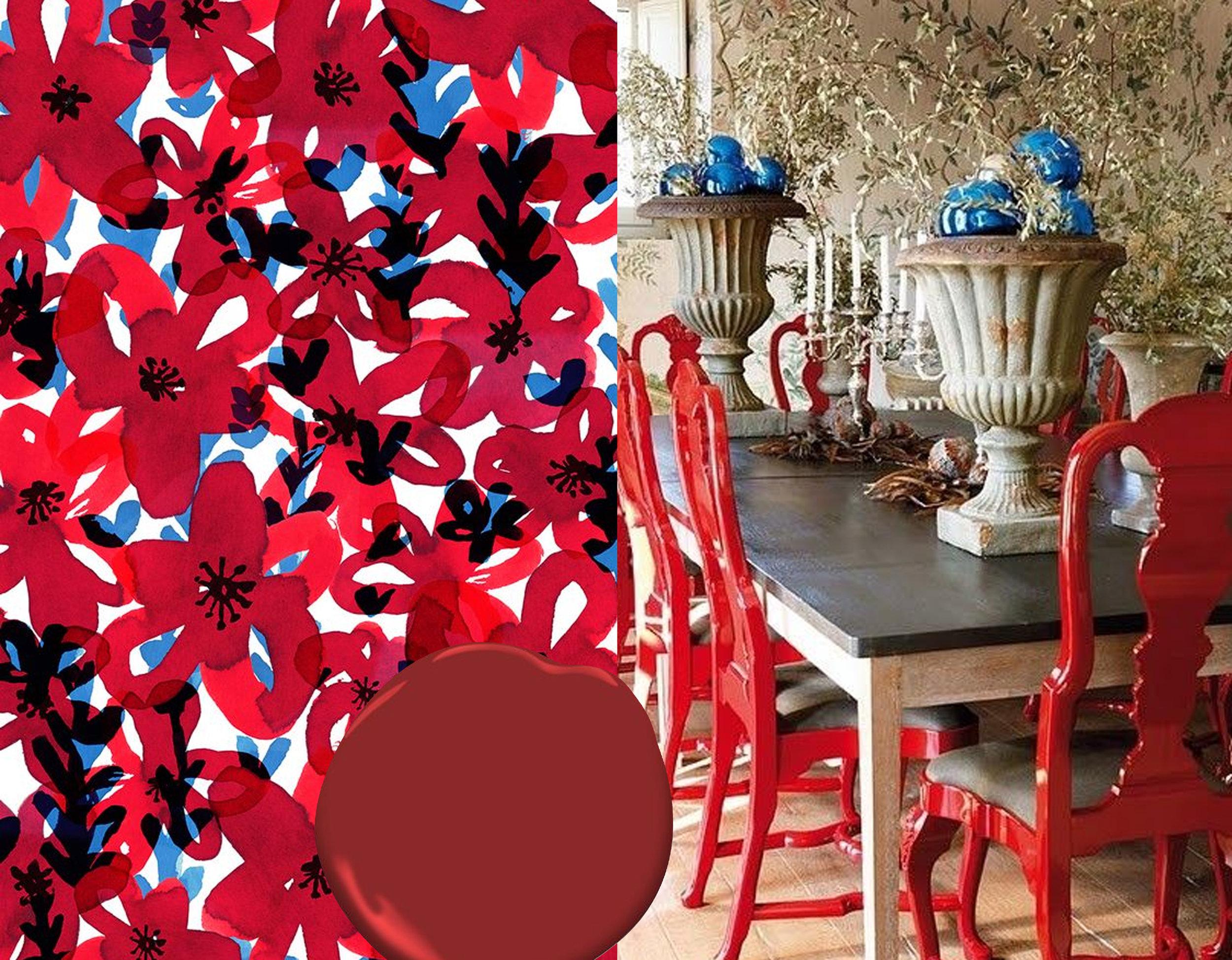 ecoline textiles series Sarah Edith via  Behance