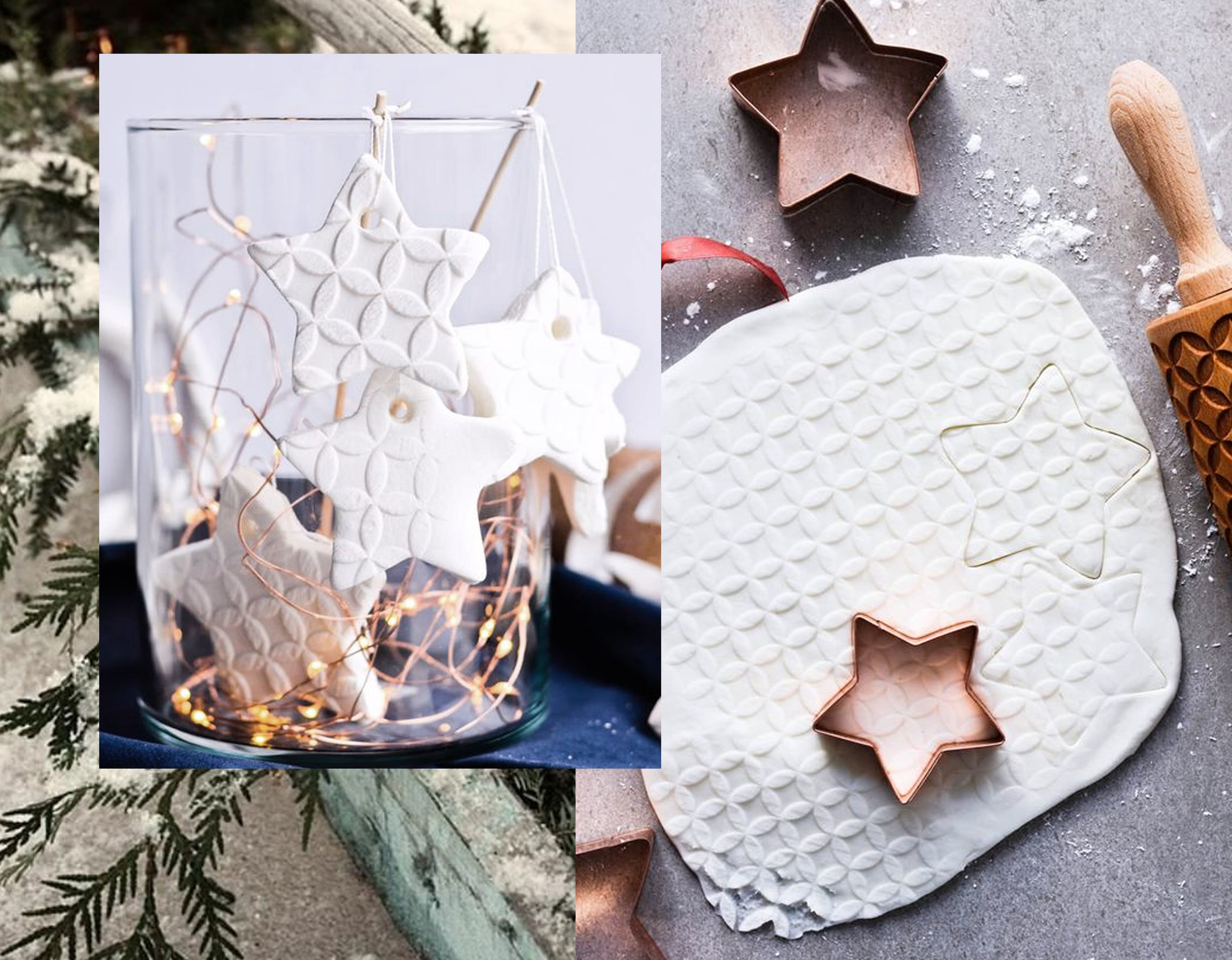 homemade ornaments with instructions via Sugar Salted