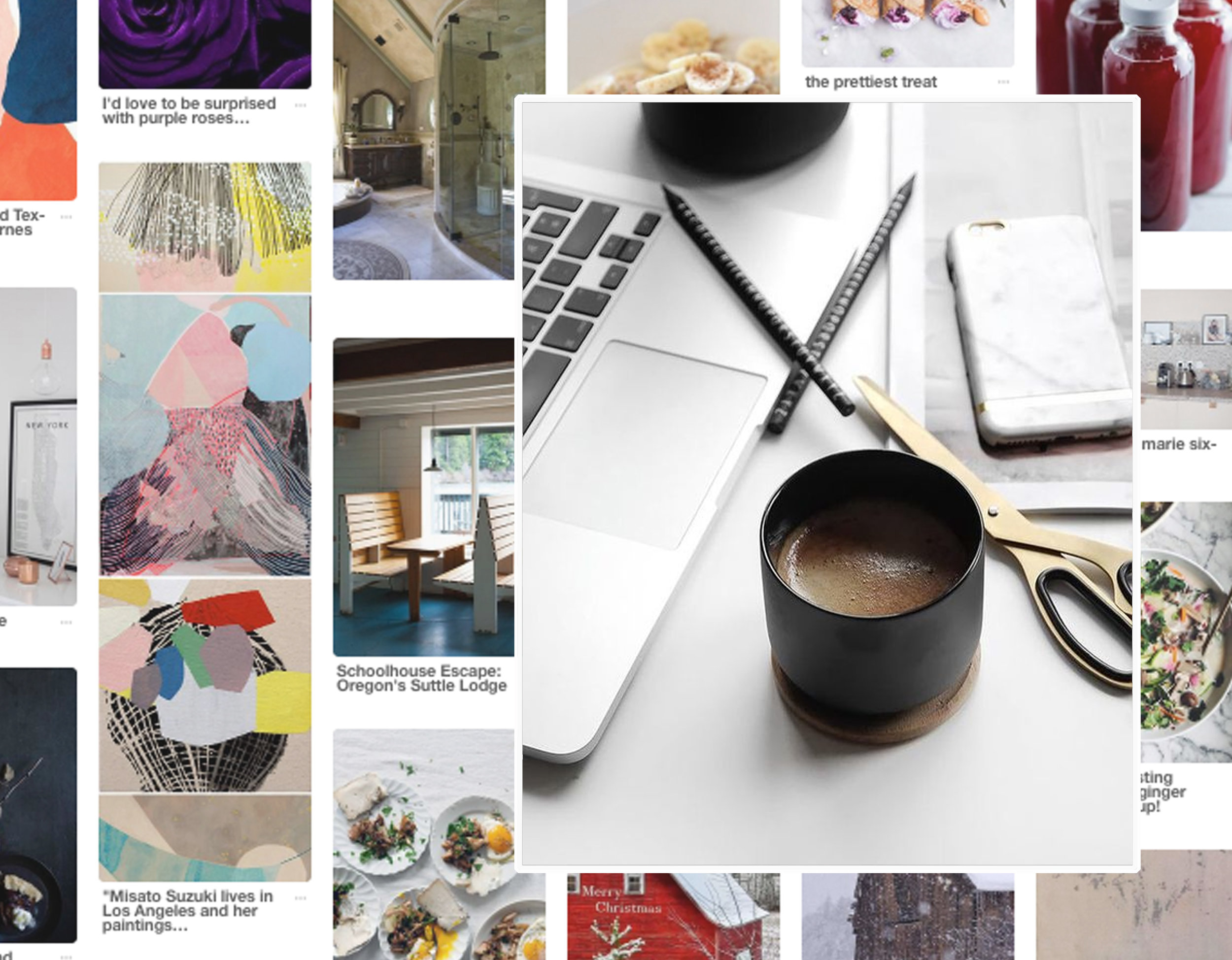 Pinterest  - working tools via  Instagram