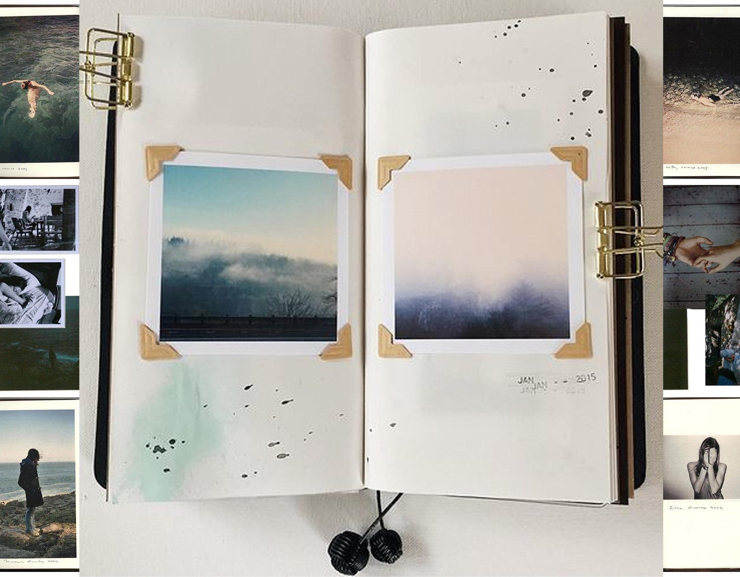 images via  Aubrey Road  - traveler's notebook via  Flickr