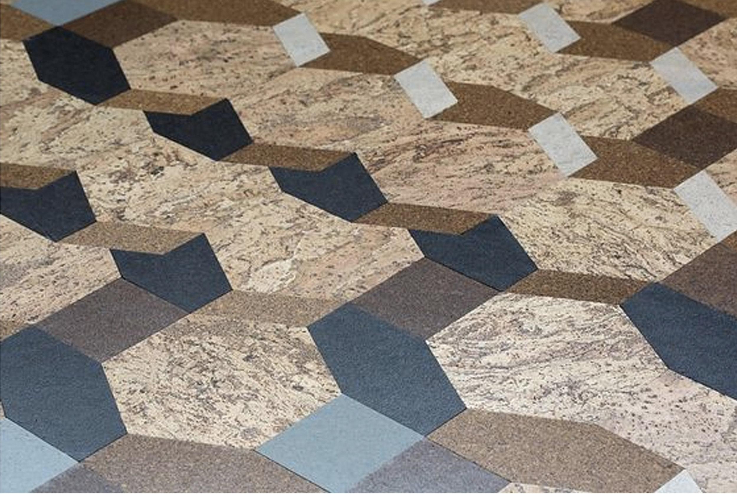 cork floor covering  Amorim