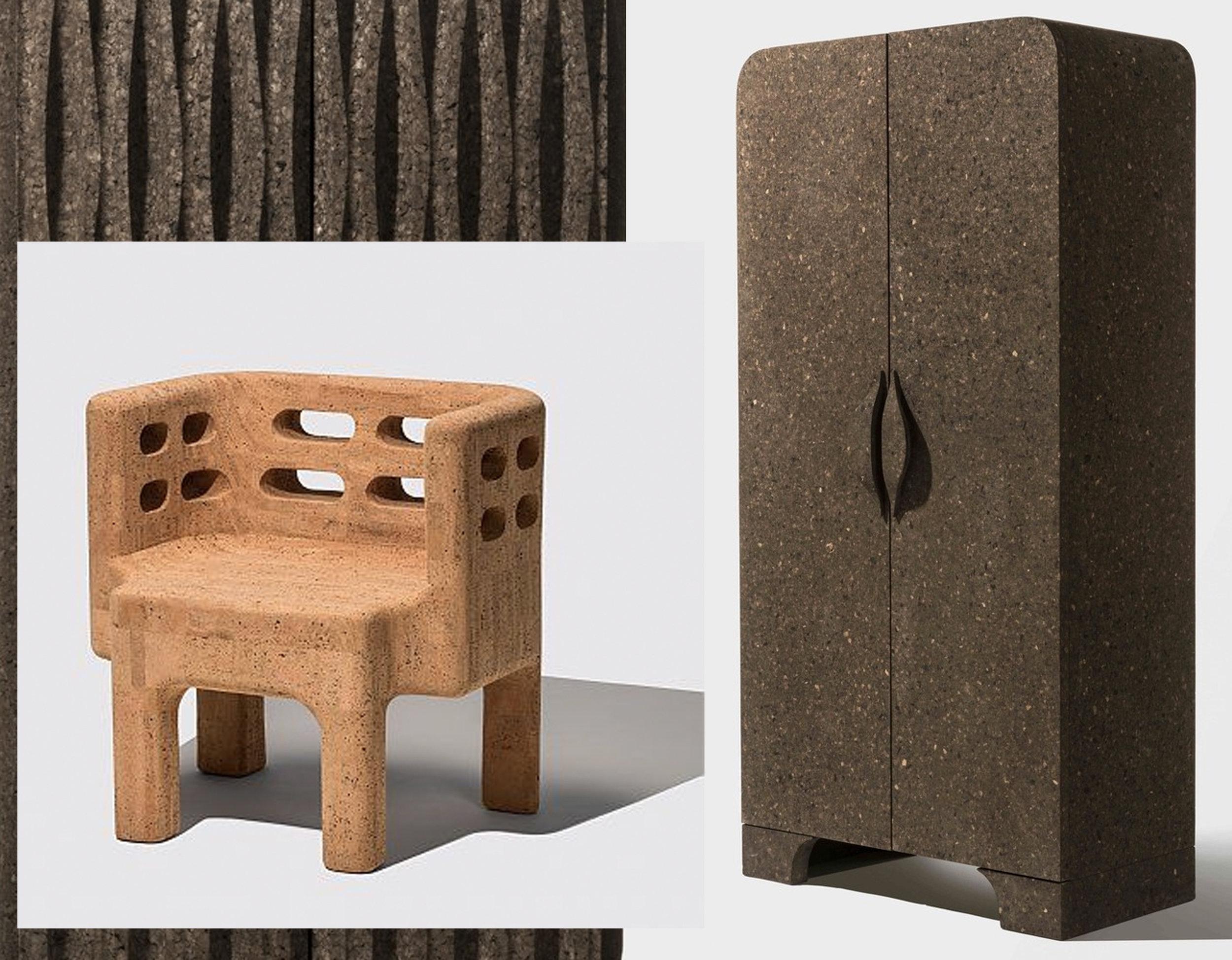 Sobreiro designed by Campana Brothers developed by  Amorim