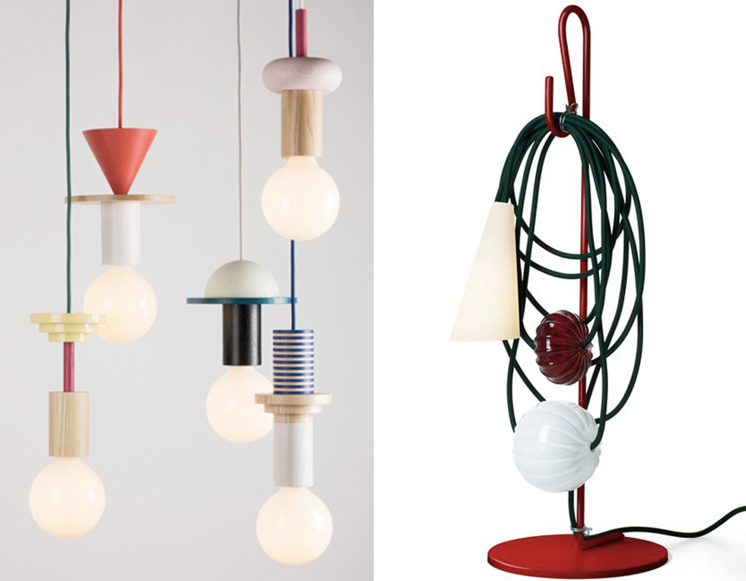 hanging lamps  Designort  - lamp Filo  Foscarini