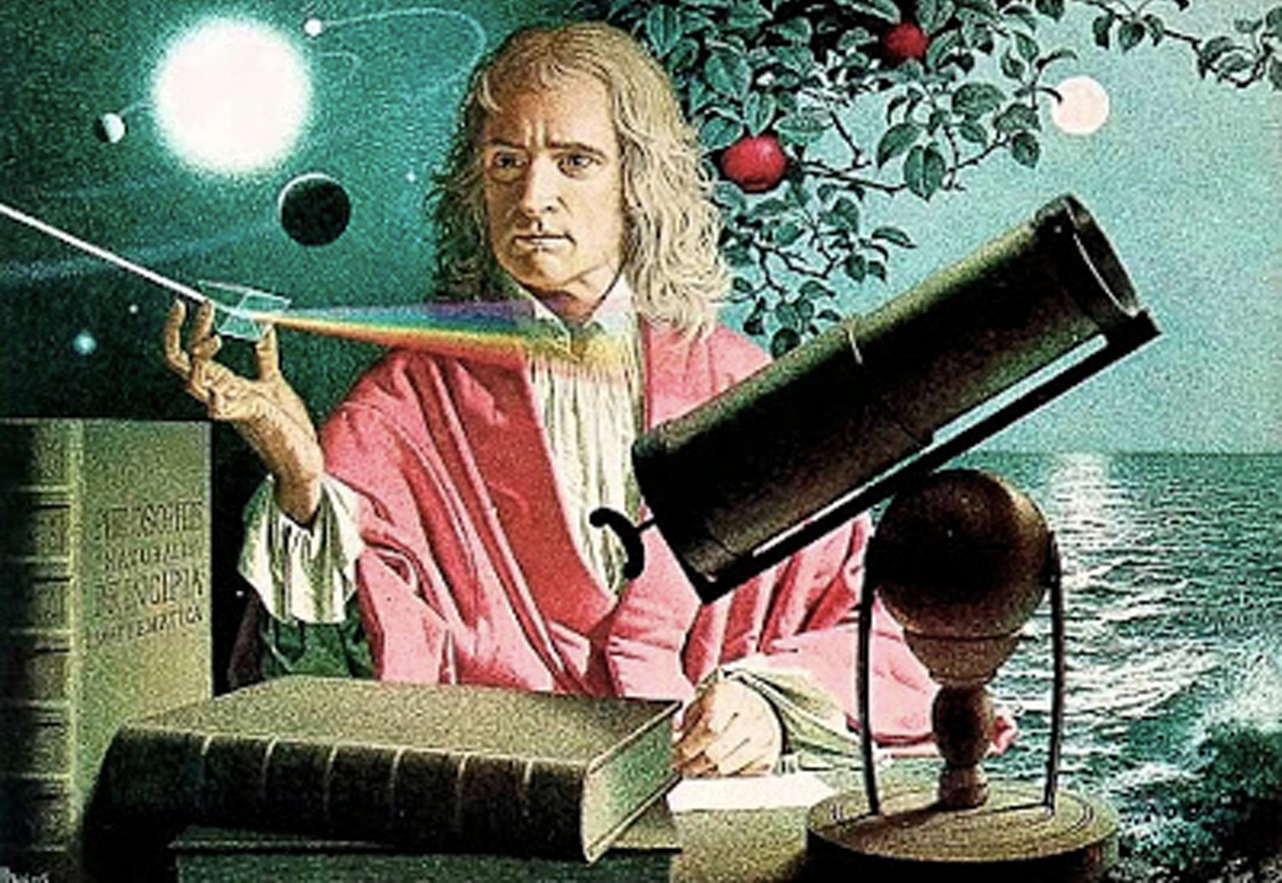 Isaac Newton  Projecto Matematicas y Arte