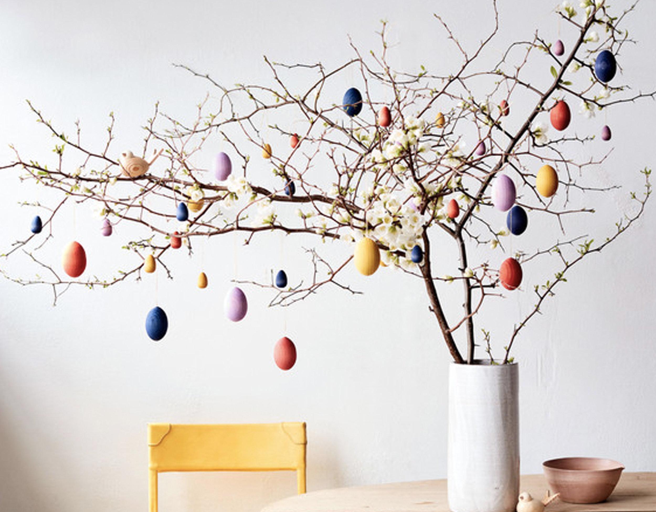Easter tree via  Martha Stewart