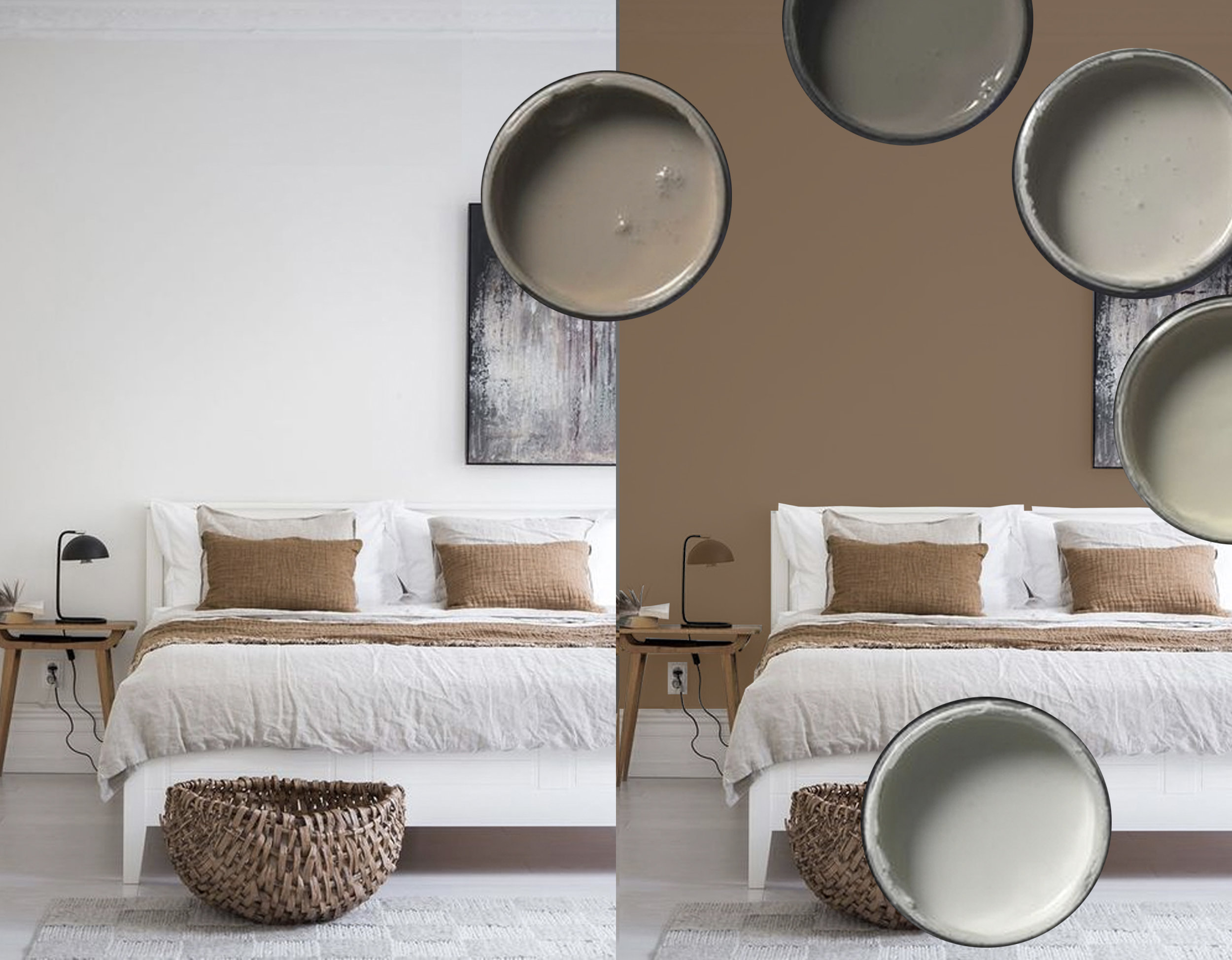 original picture on the left via  Coco Lapine Design