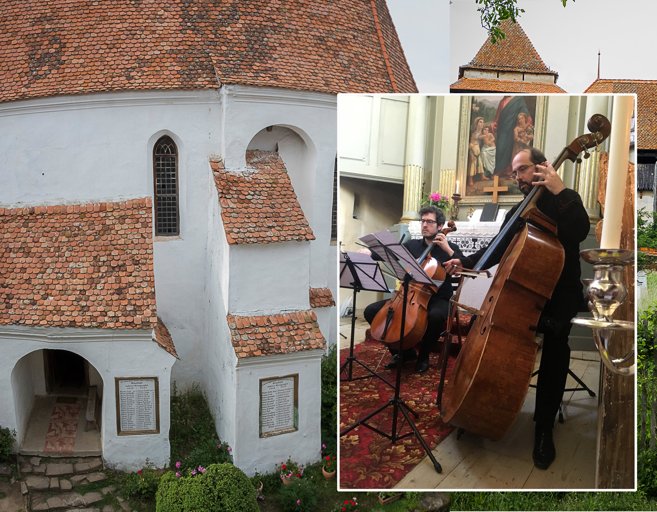 Sonoro Musikland 2019  in fortified church of Viscri