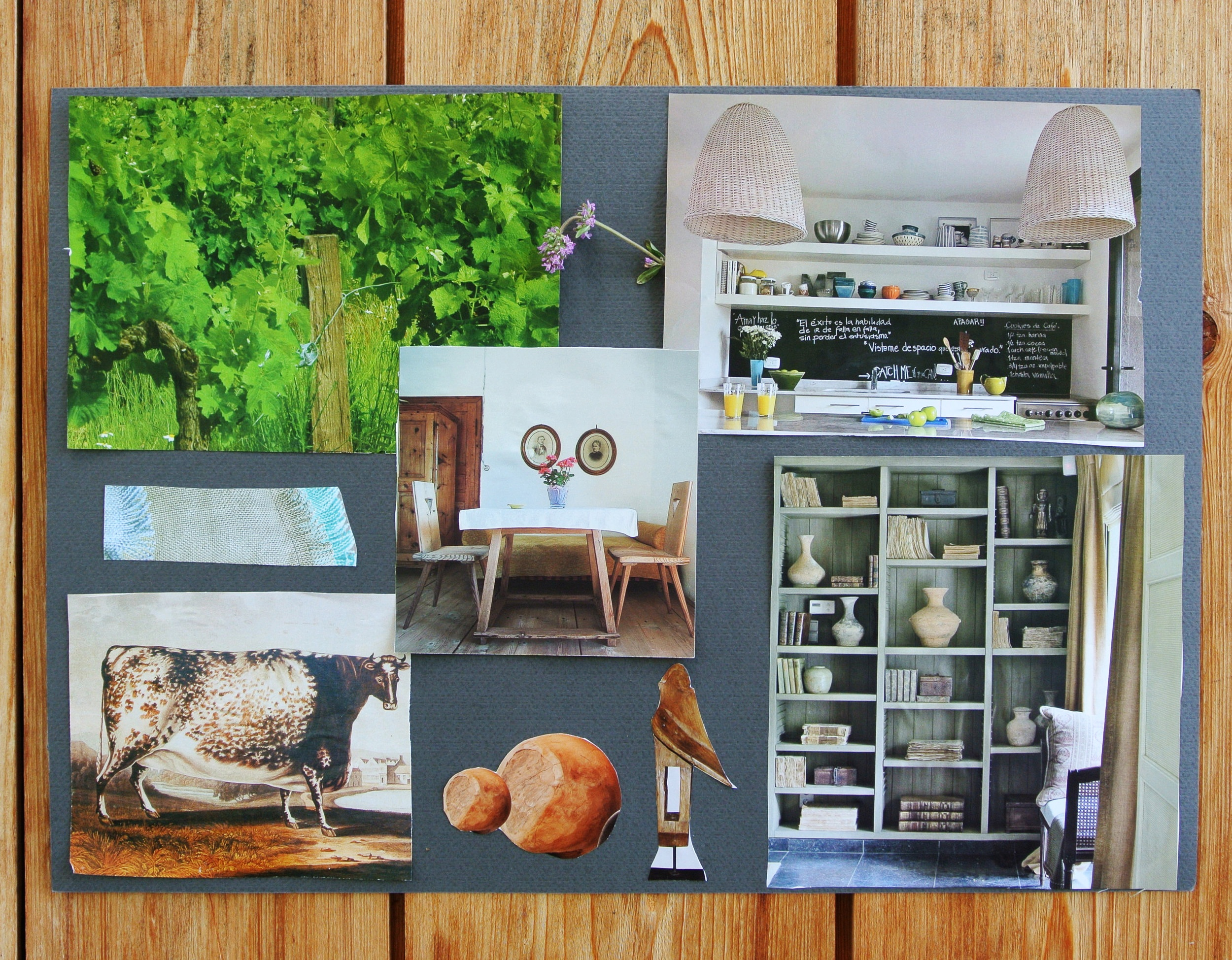 mood board of one of the participants- picture  Sorin Iacob