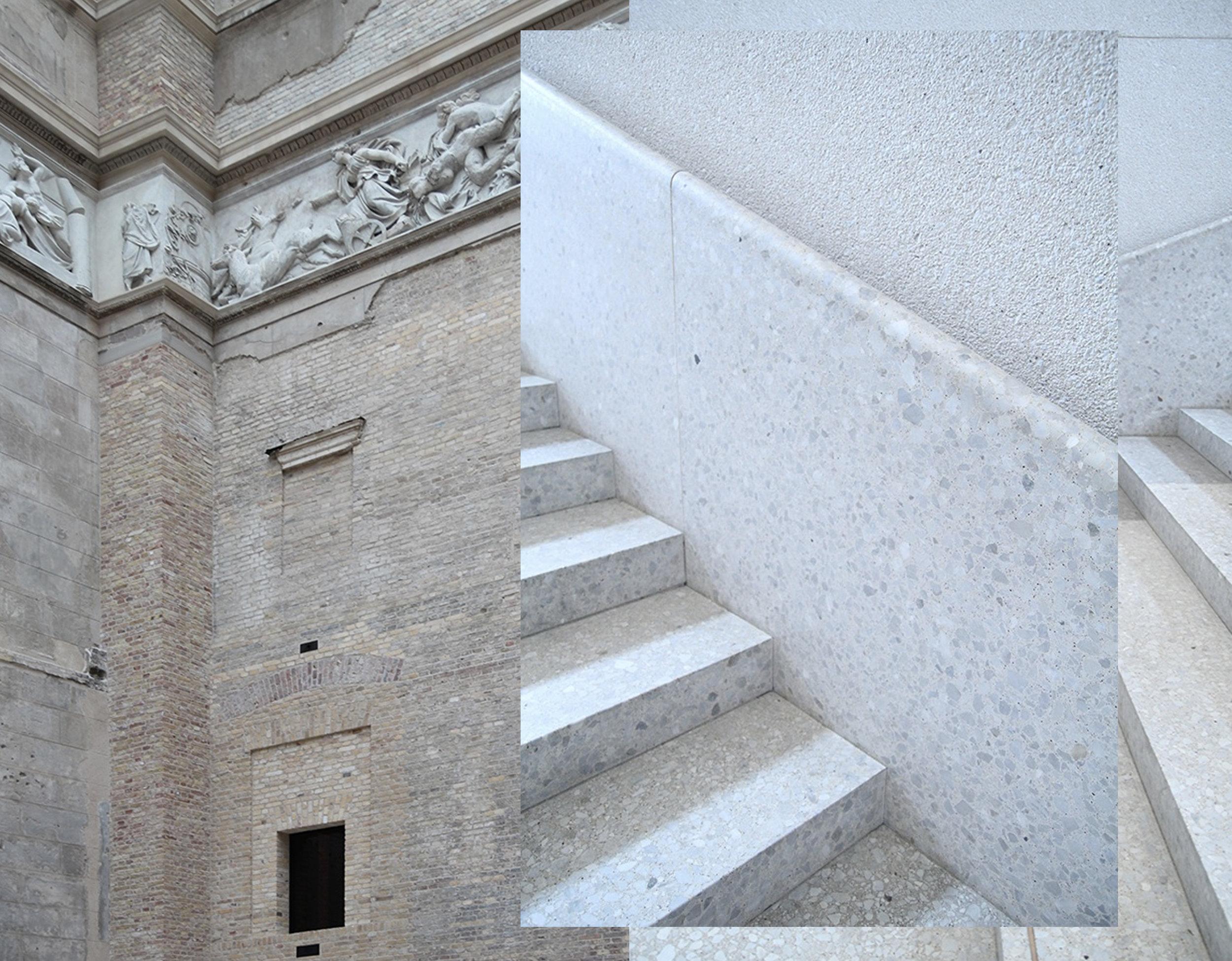Neues Museum Berlin - David Chipperfield via  Behance