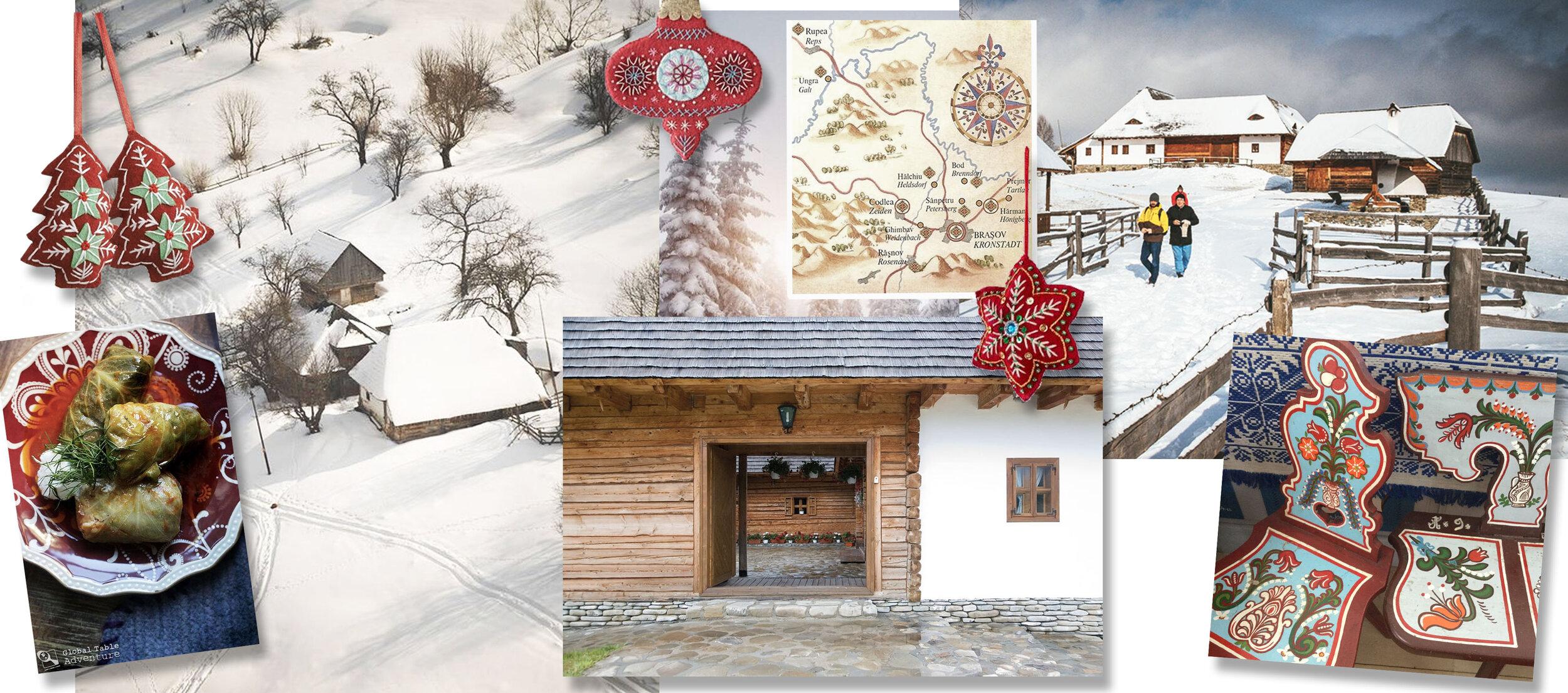 Christmas workshop in Balaban