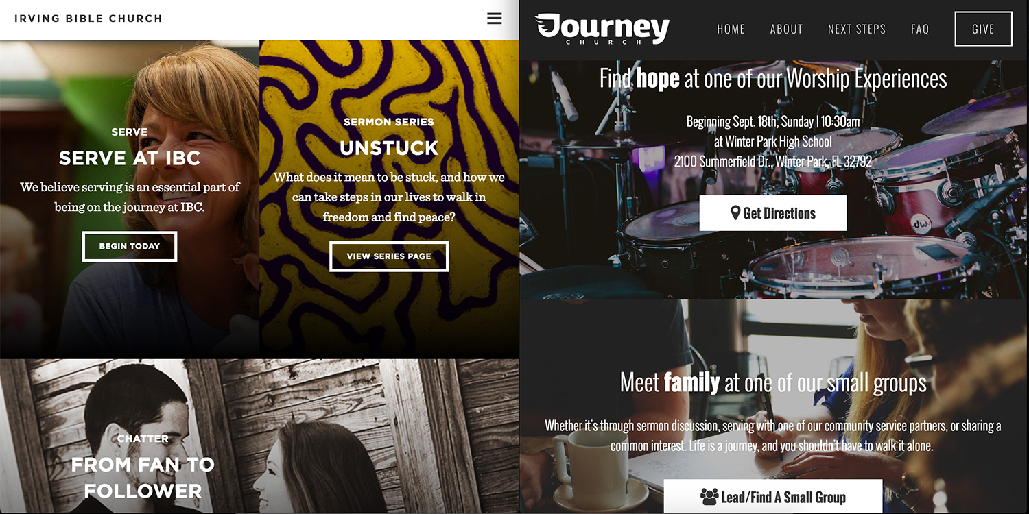 Squarespace Design_Journey Church_SidebySide1