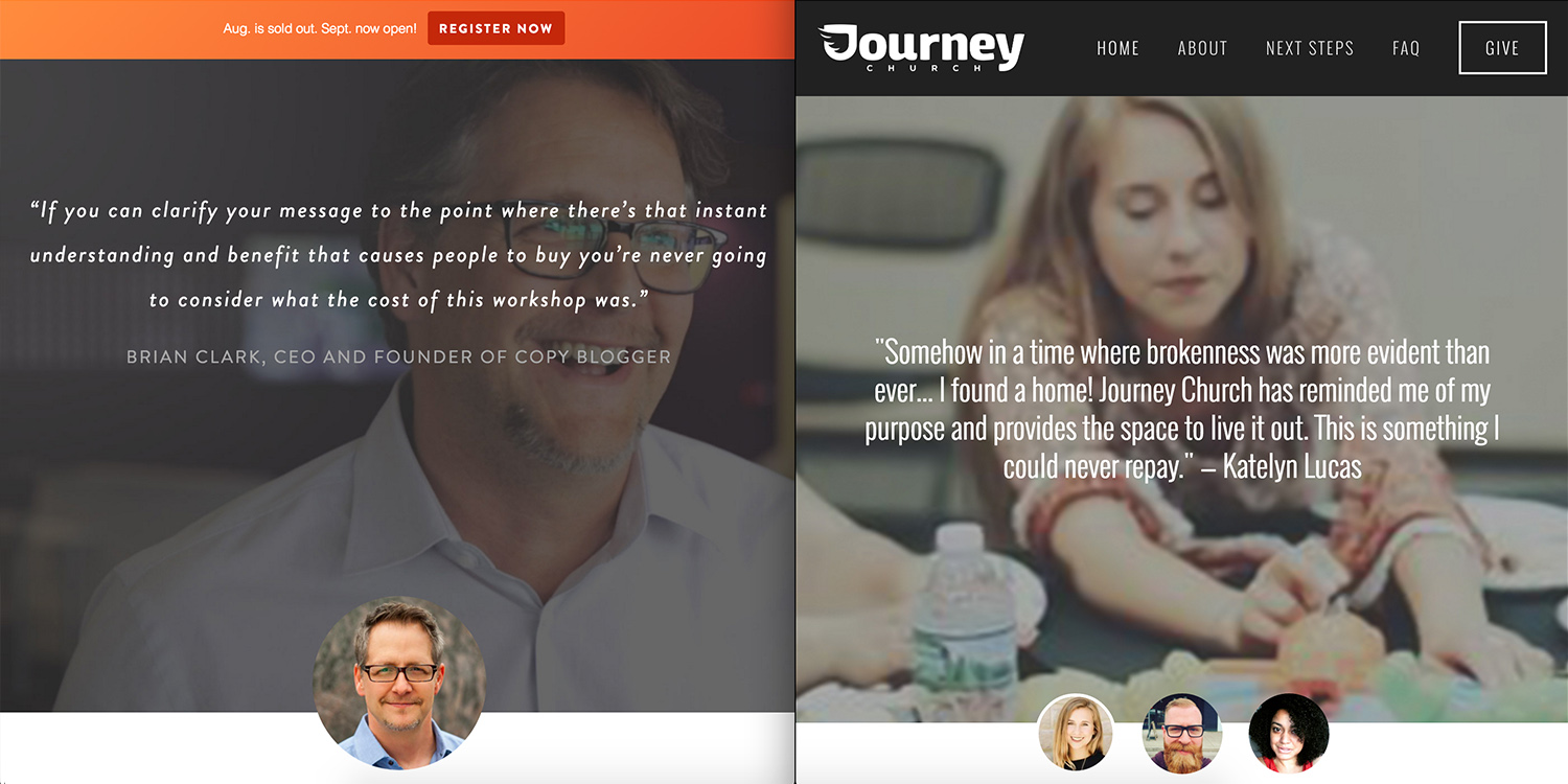 Squarespace Design_Journey Church_SidebySide2